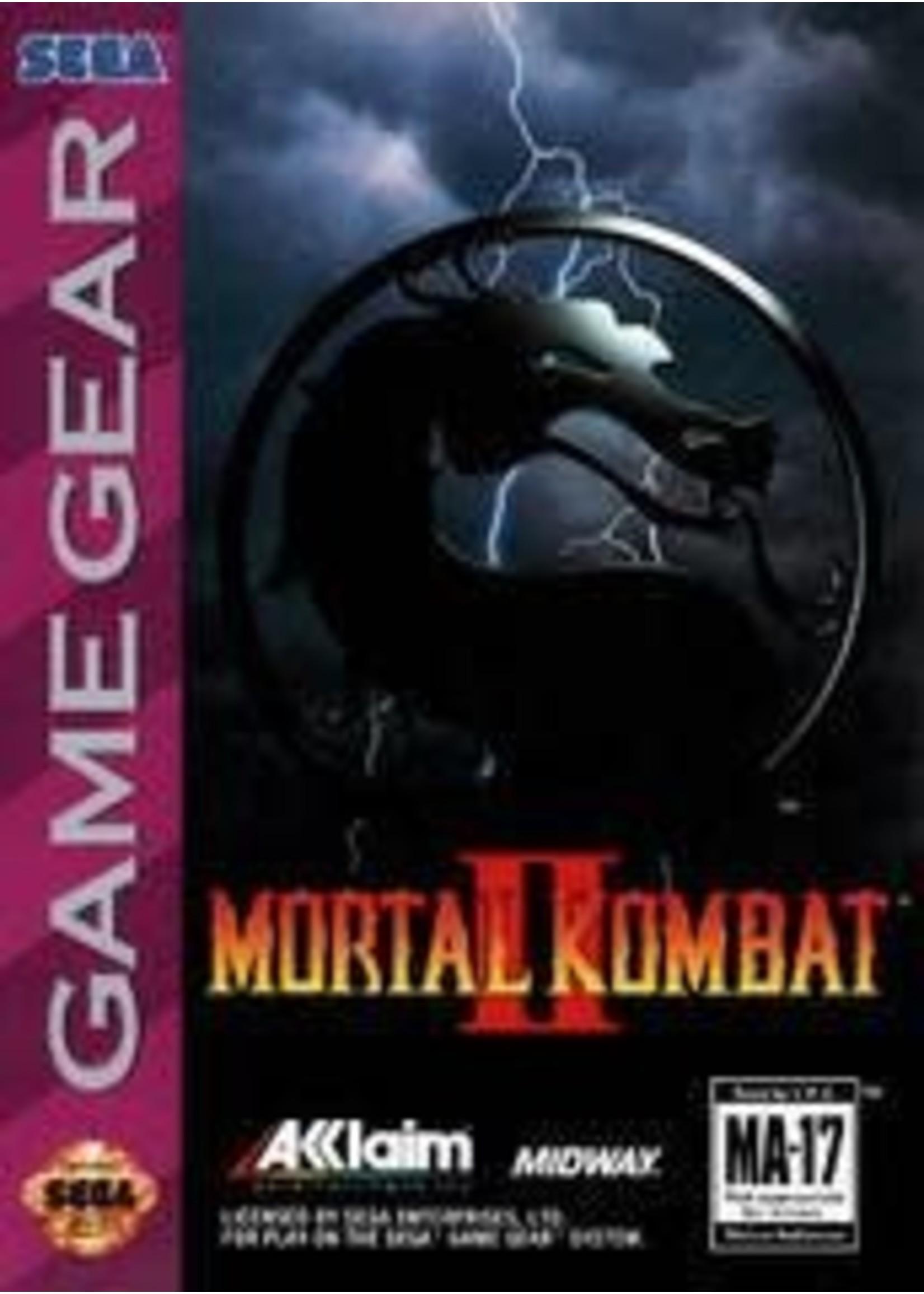 Mortal Kombat II Sega Game Gear