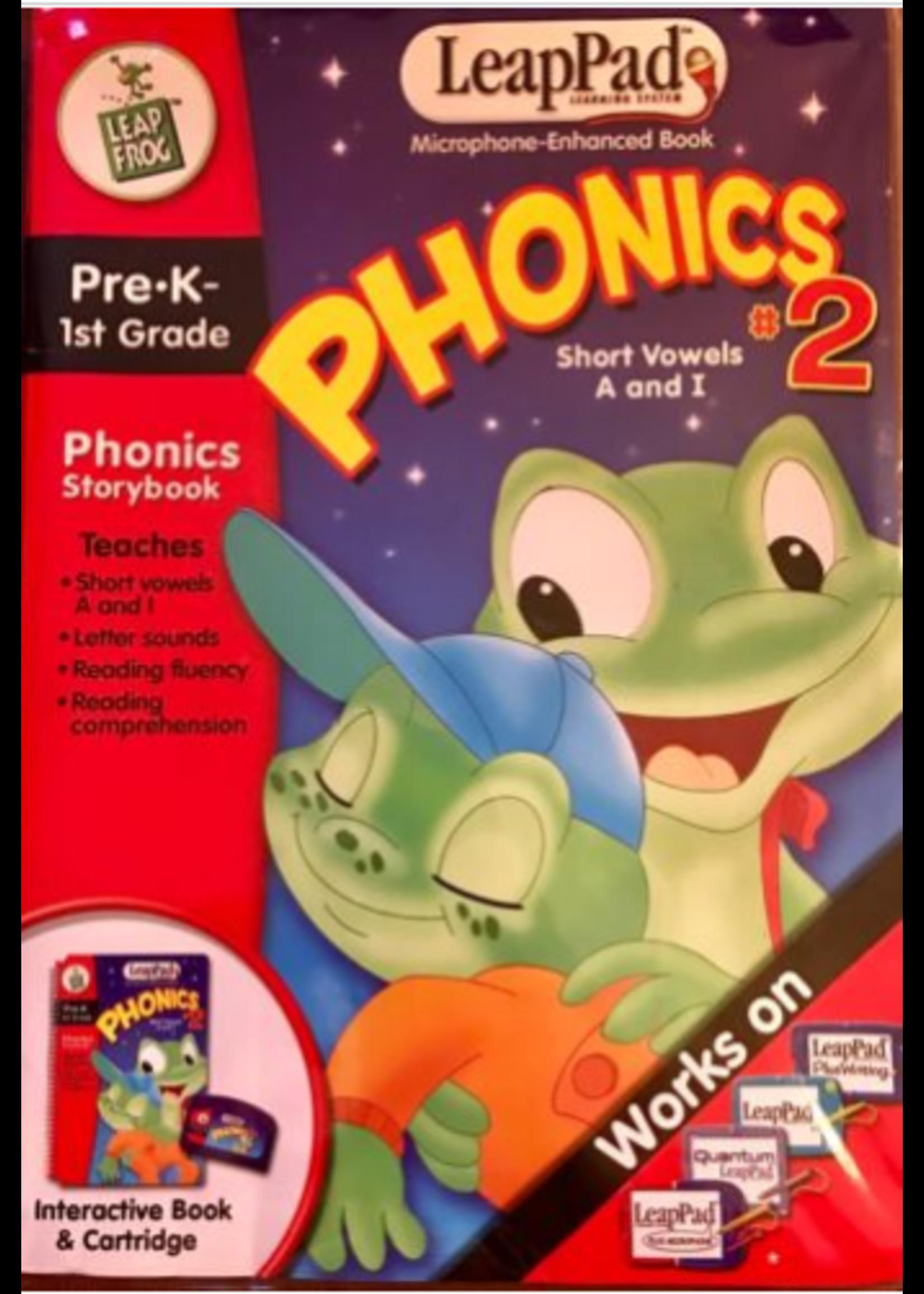 LeapPad phonics 2
