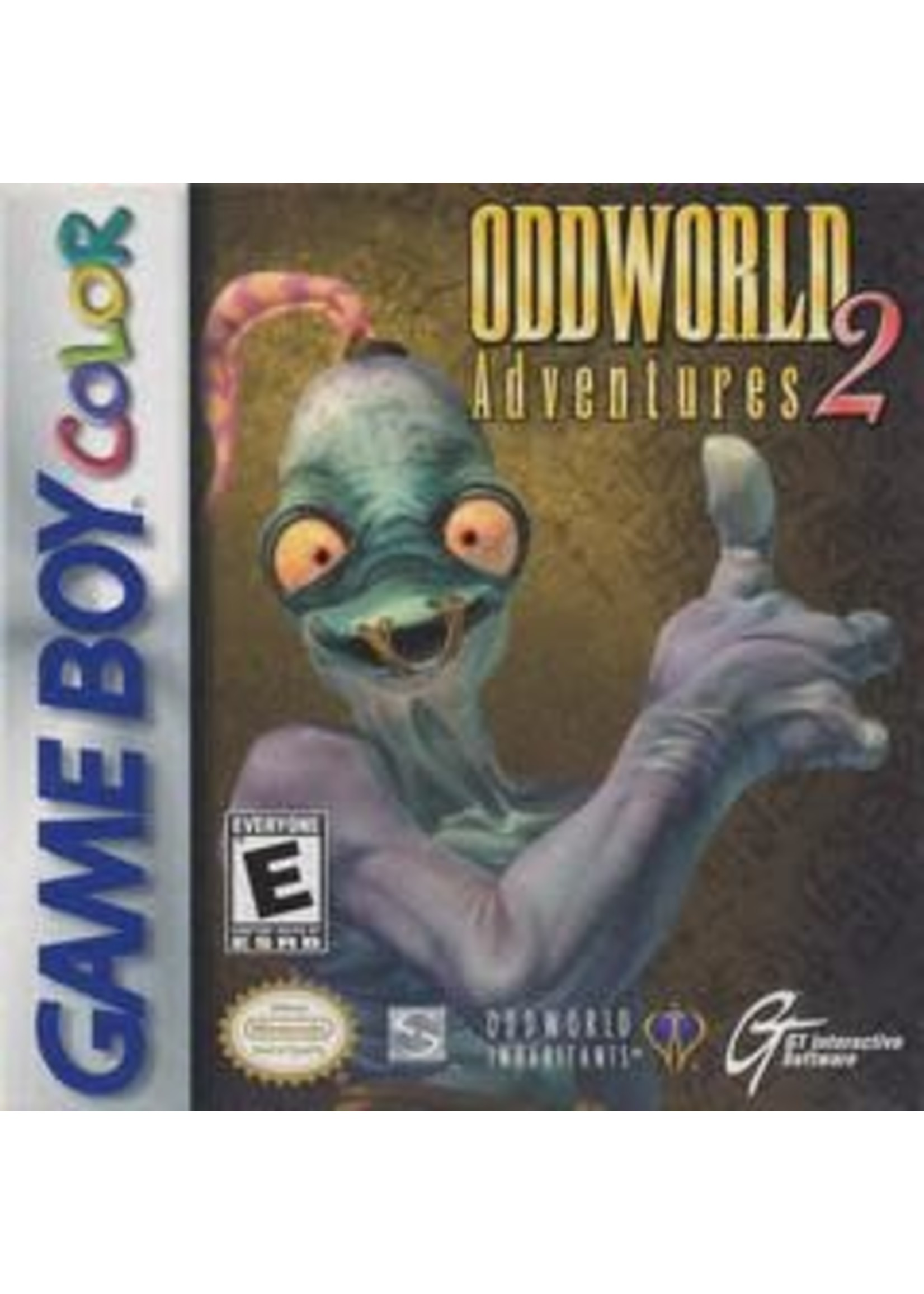 Oddworld Adventures 2 GameBoy Color