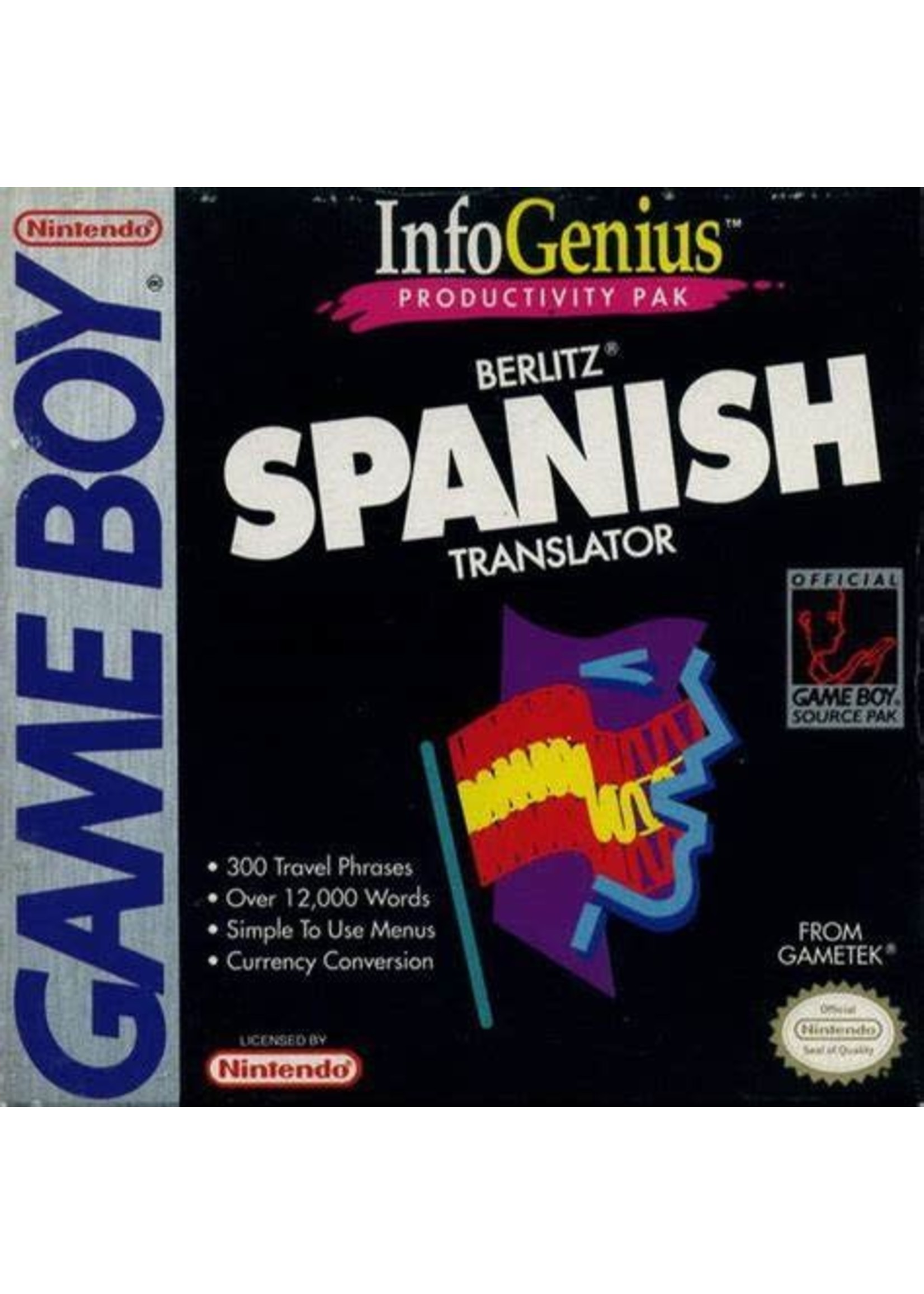 InfoGenius Spanish Gameboy Color