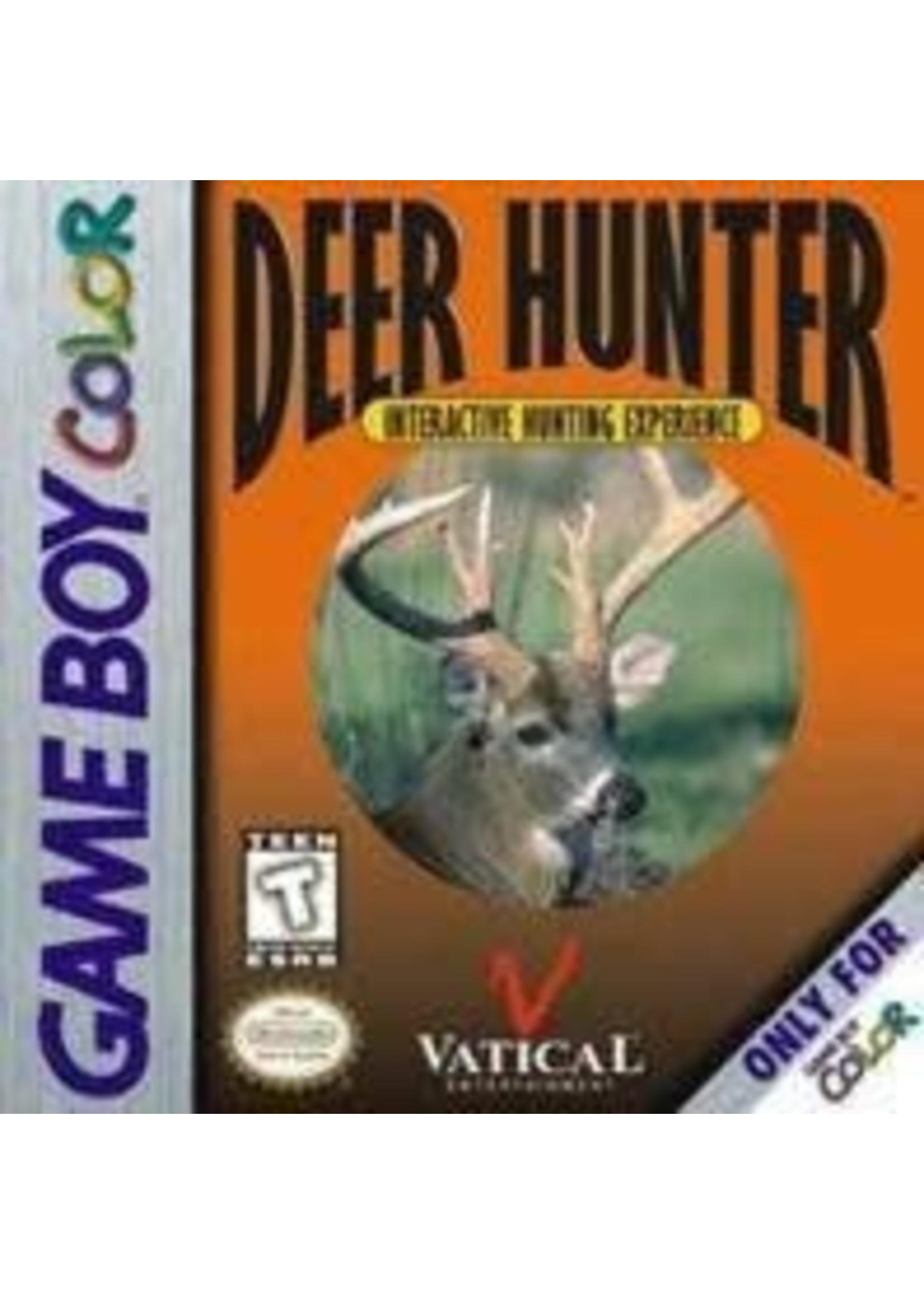 Deer Hunter GameBoy Color