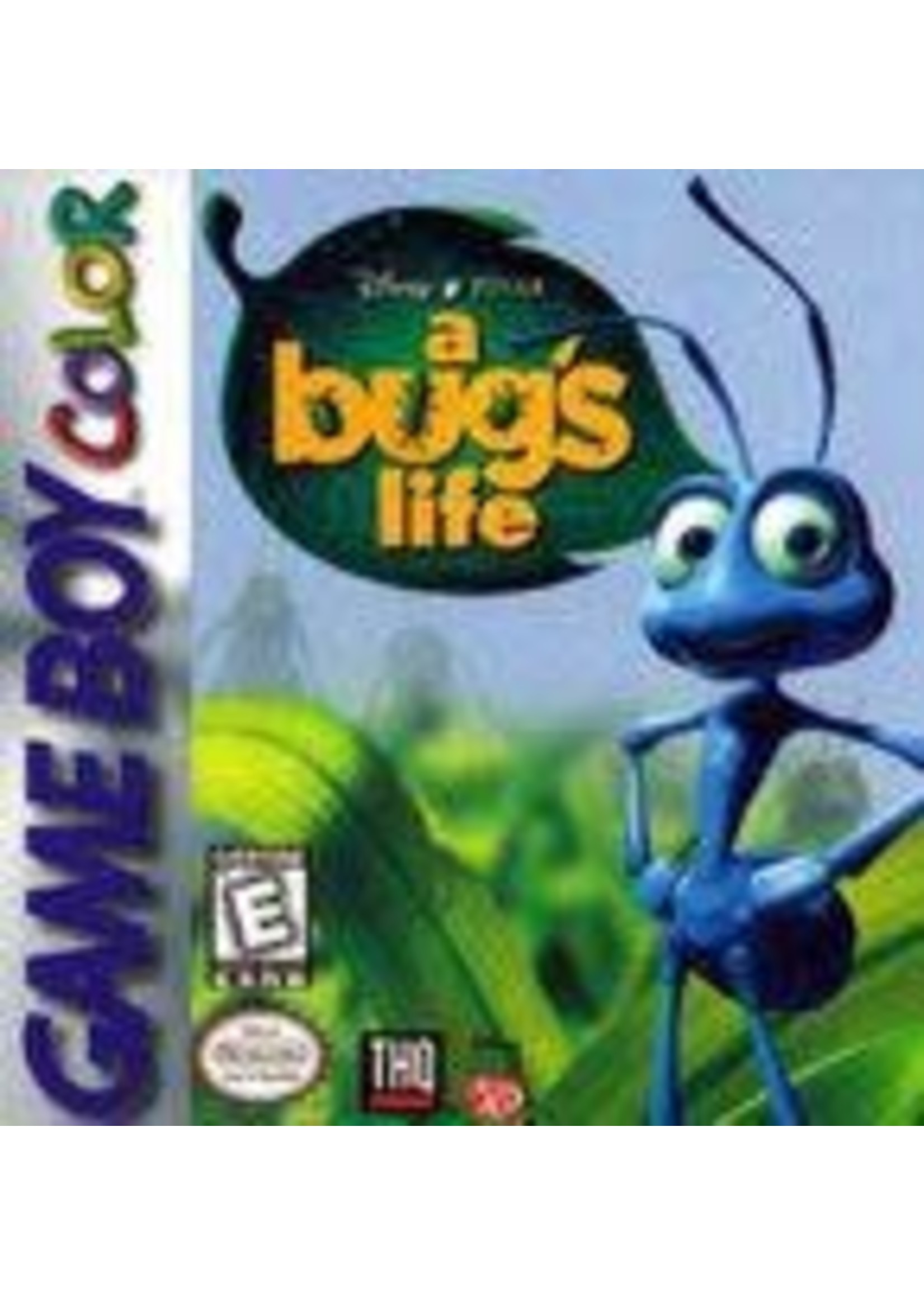 A Bug's Life GameBoy Color