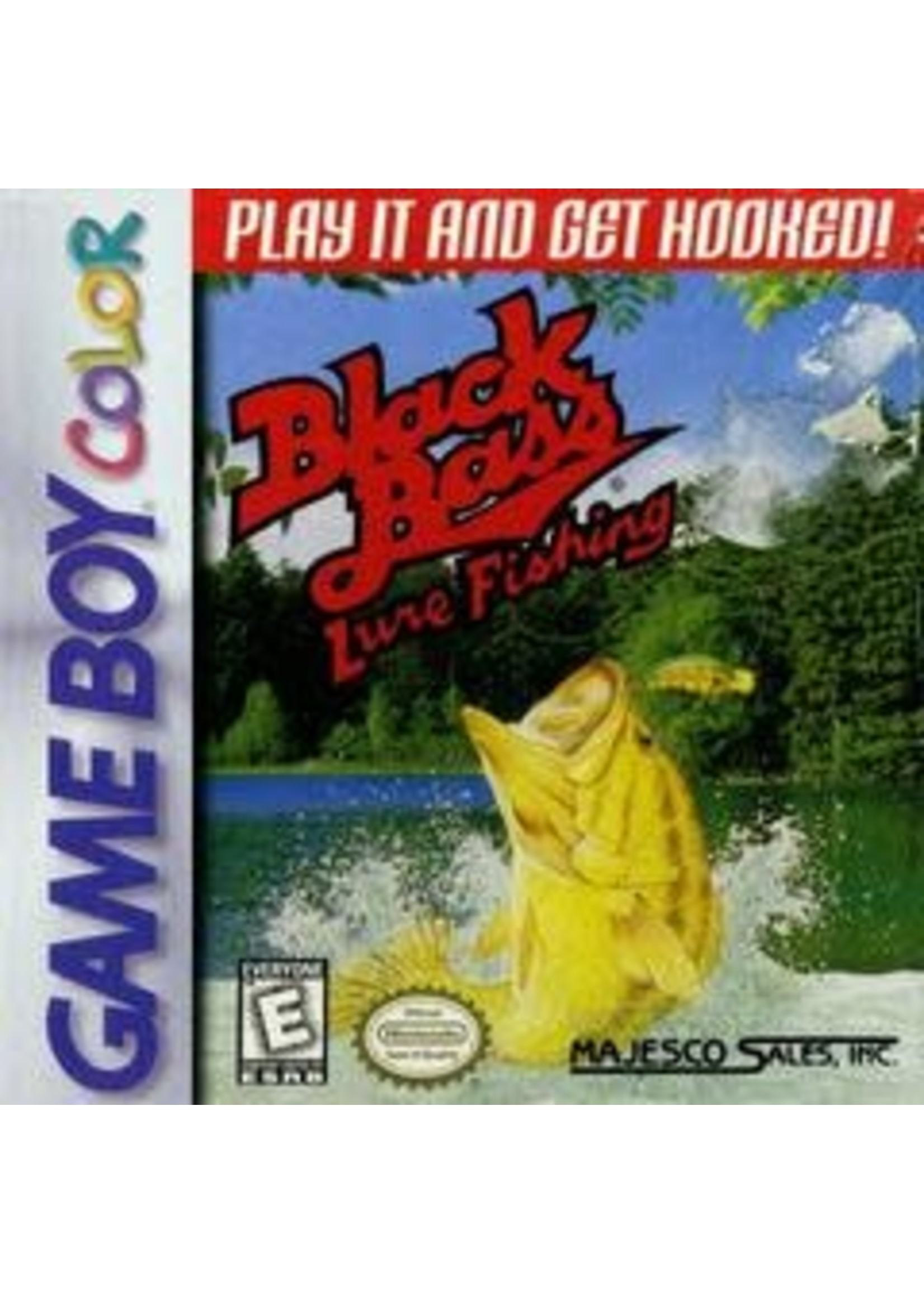 Black Bass Lure Fishing GameBoy Color