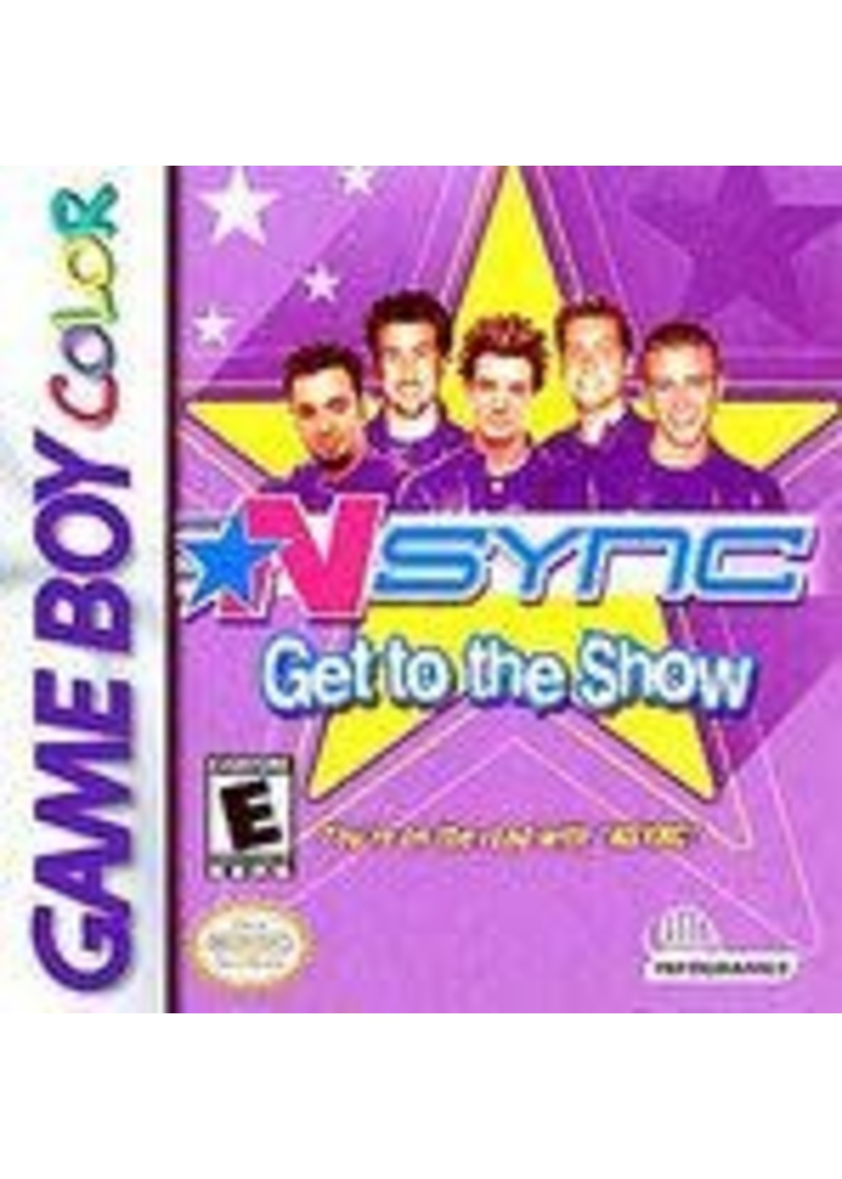 NSYNC Get To The Show GameBoy Color
