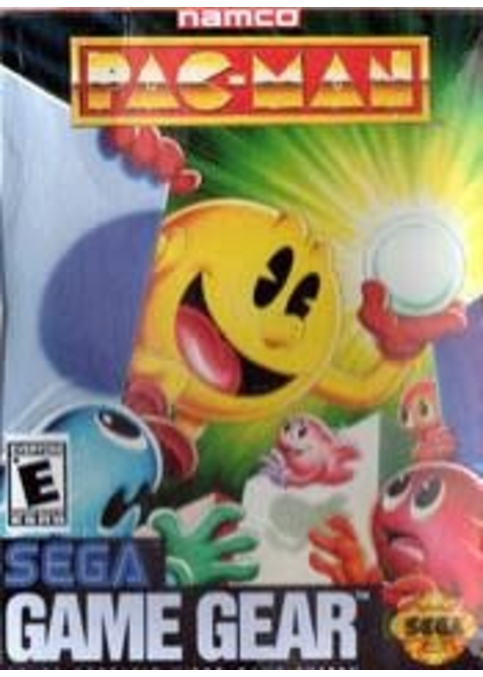 Pac Man Sega Game Gear
