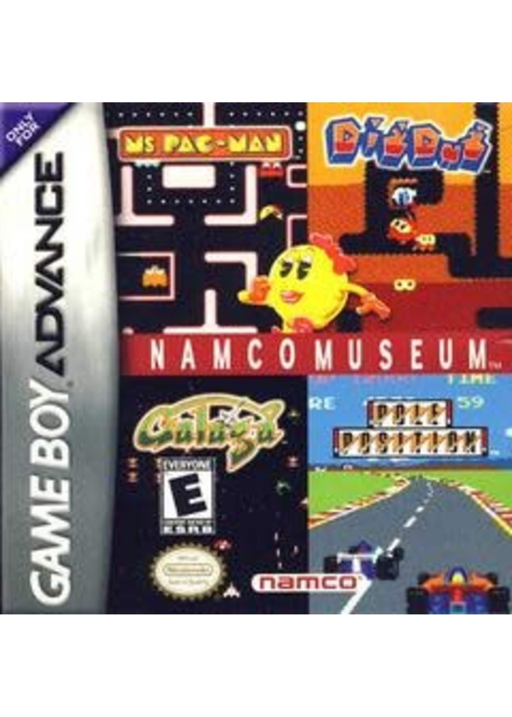 Namco Museum GameBoy Advance