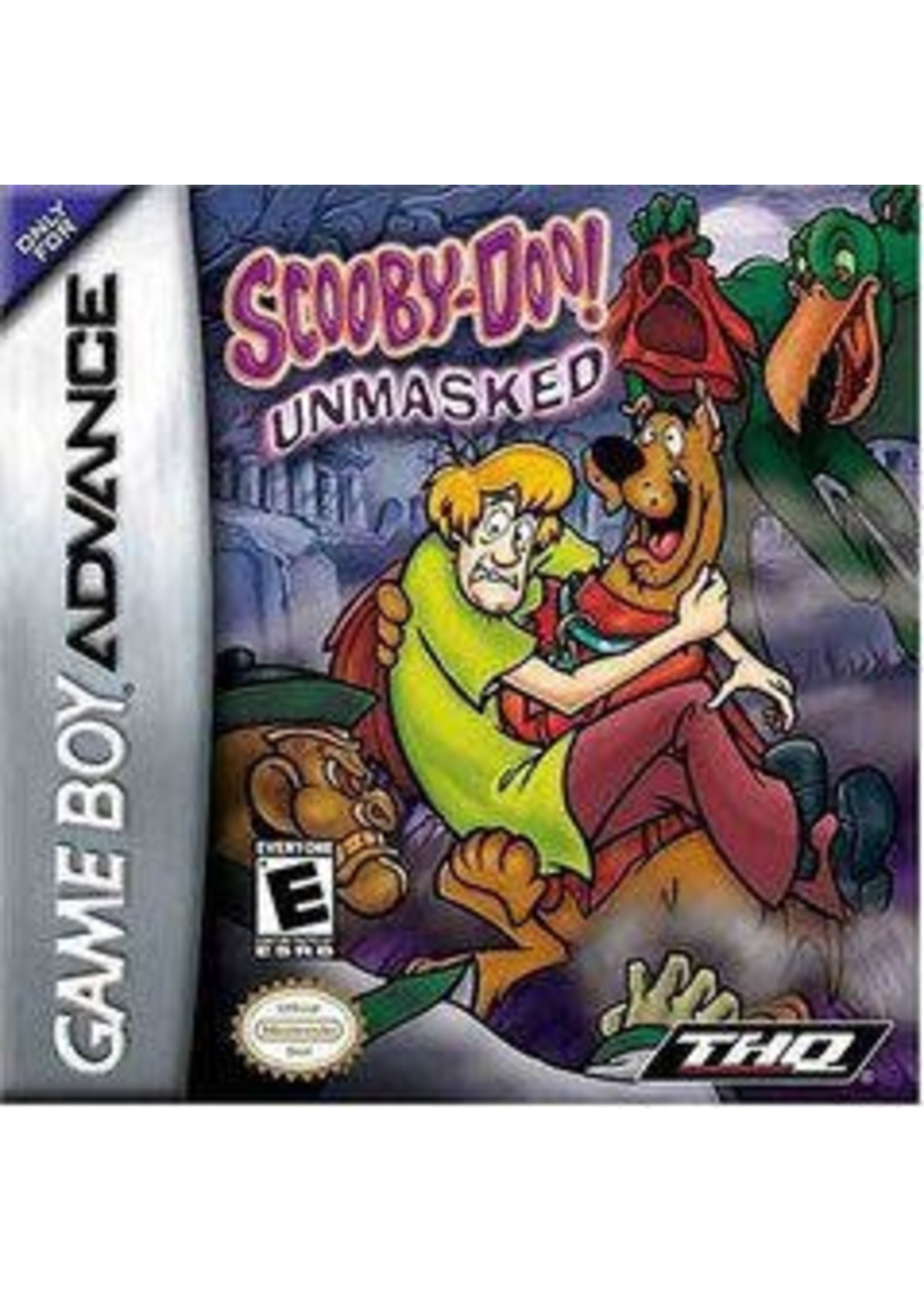 Scooby Doo Unmasked GameBoy Advance