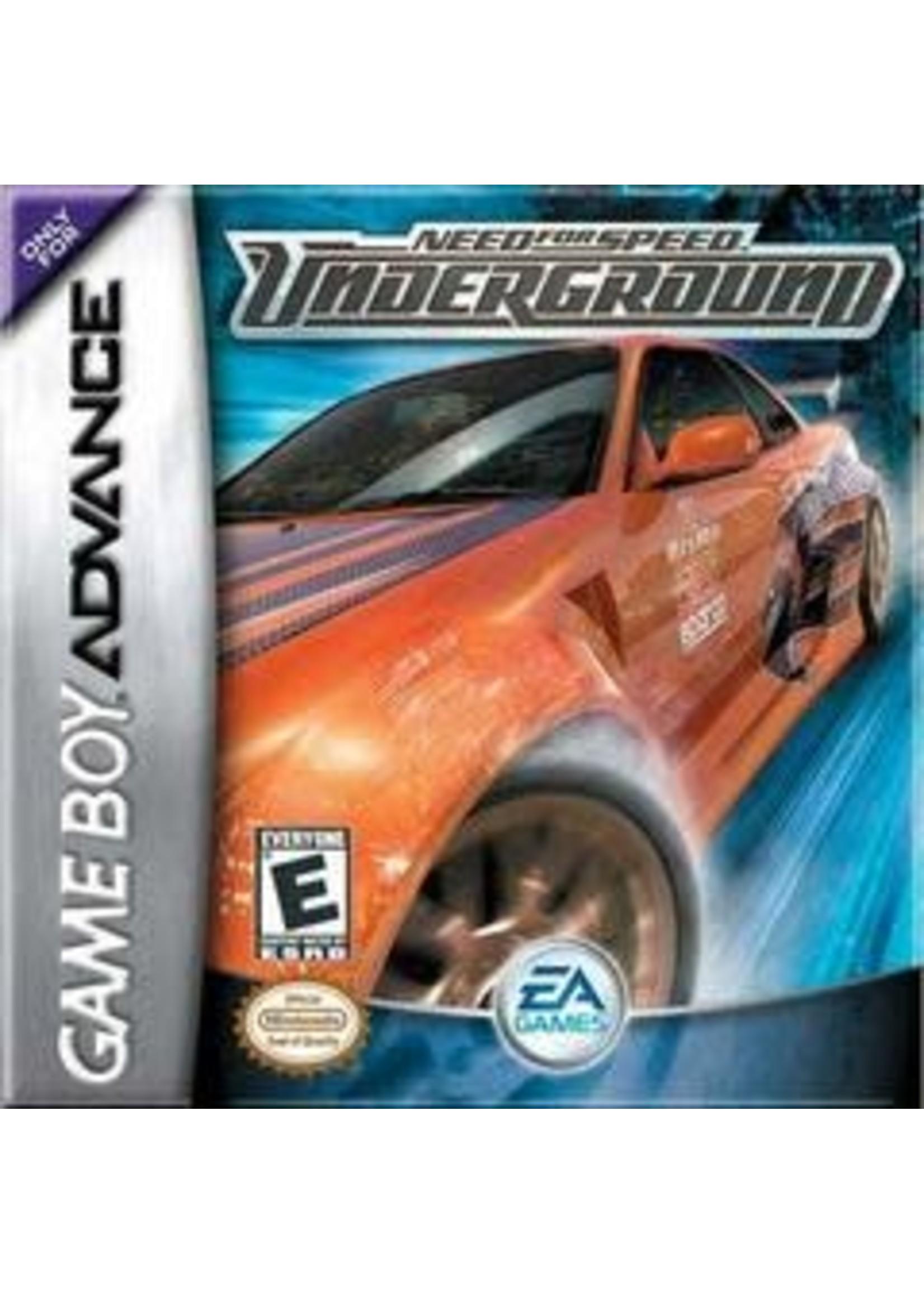 Need For Speed Underground GameBoy Advance