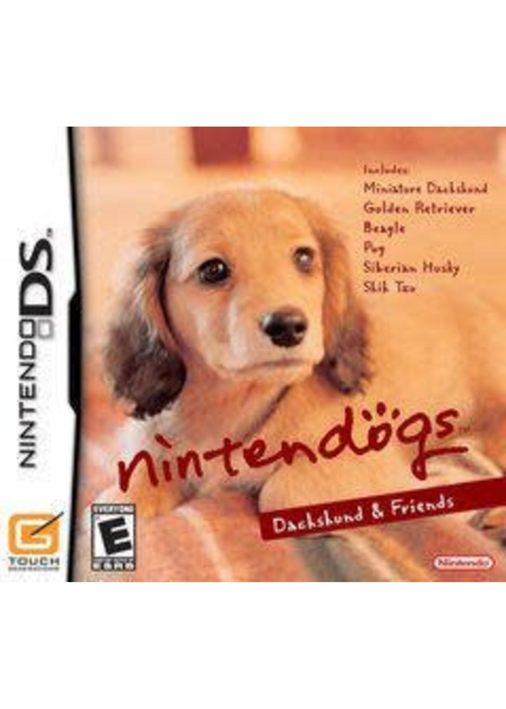 Nintendogs Dachshund And Friends Nintendo DS
