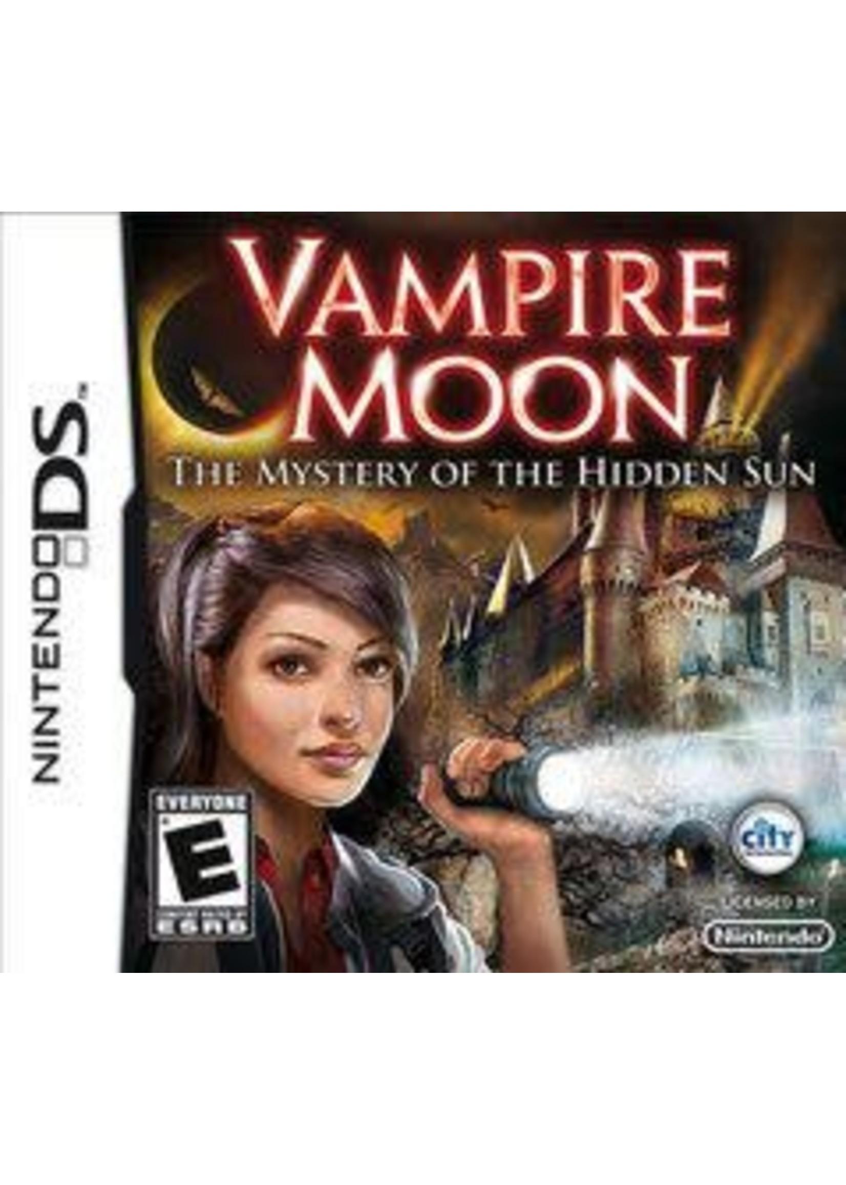 Vampire Moon: The Mystery Of The Hidden Sun Nintendo DS