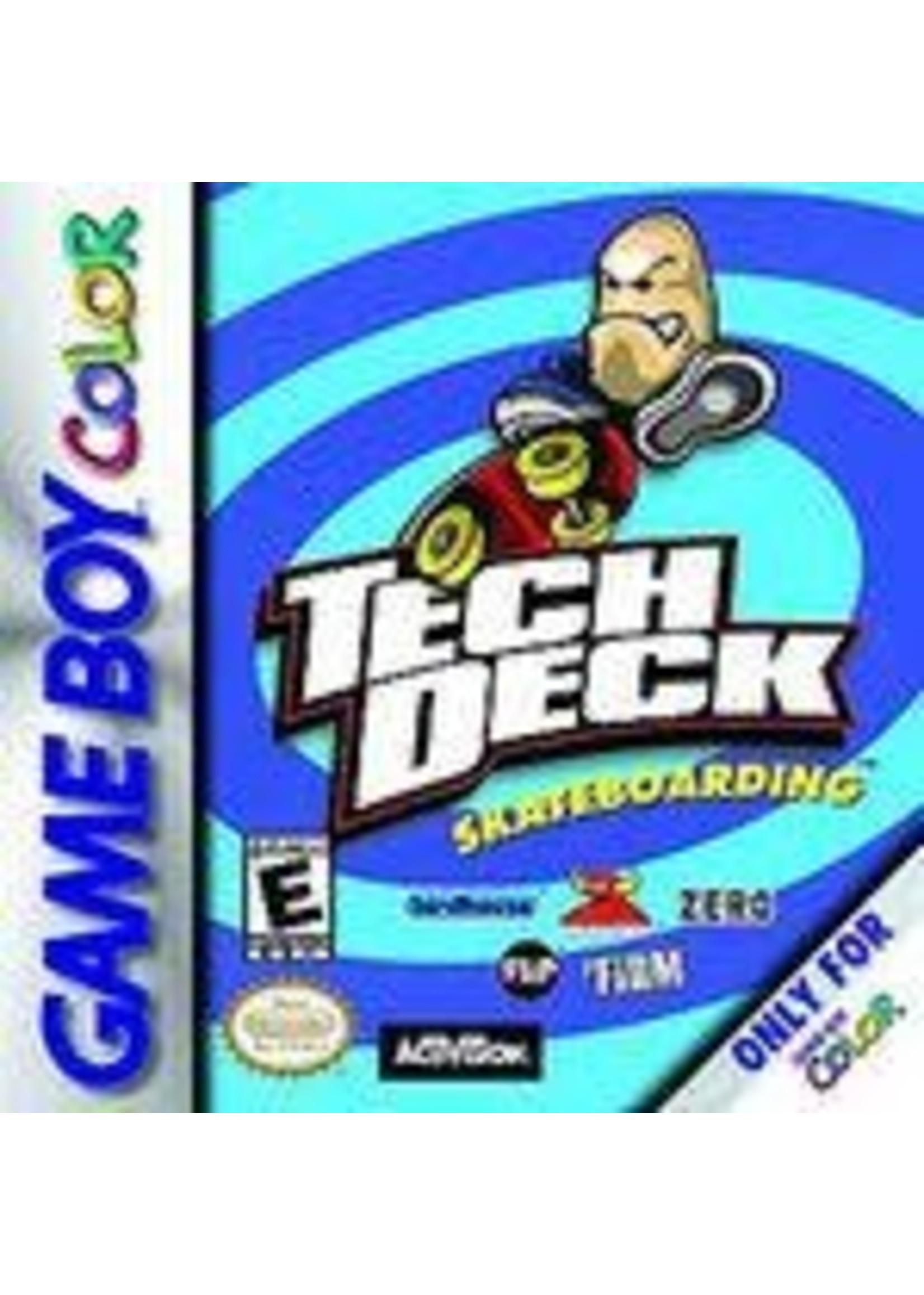 Tech Deck Skateboarding GameBoy Color