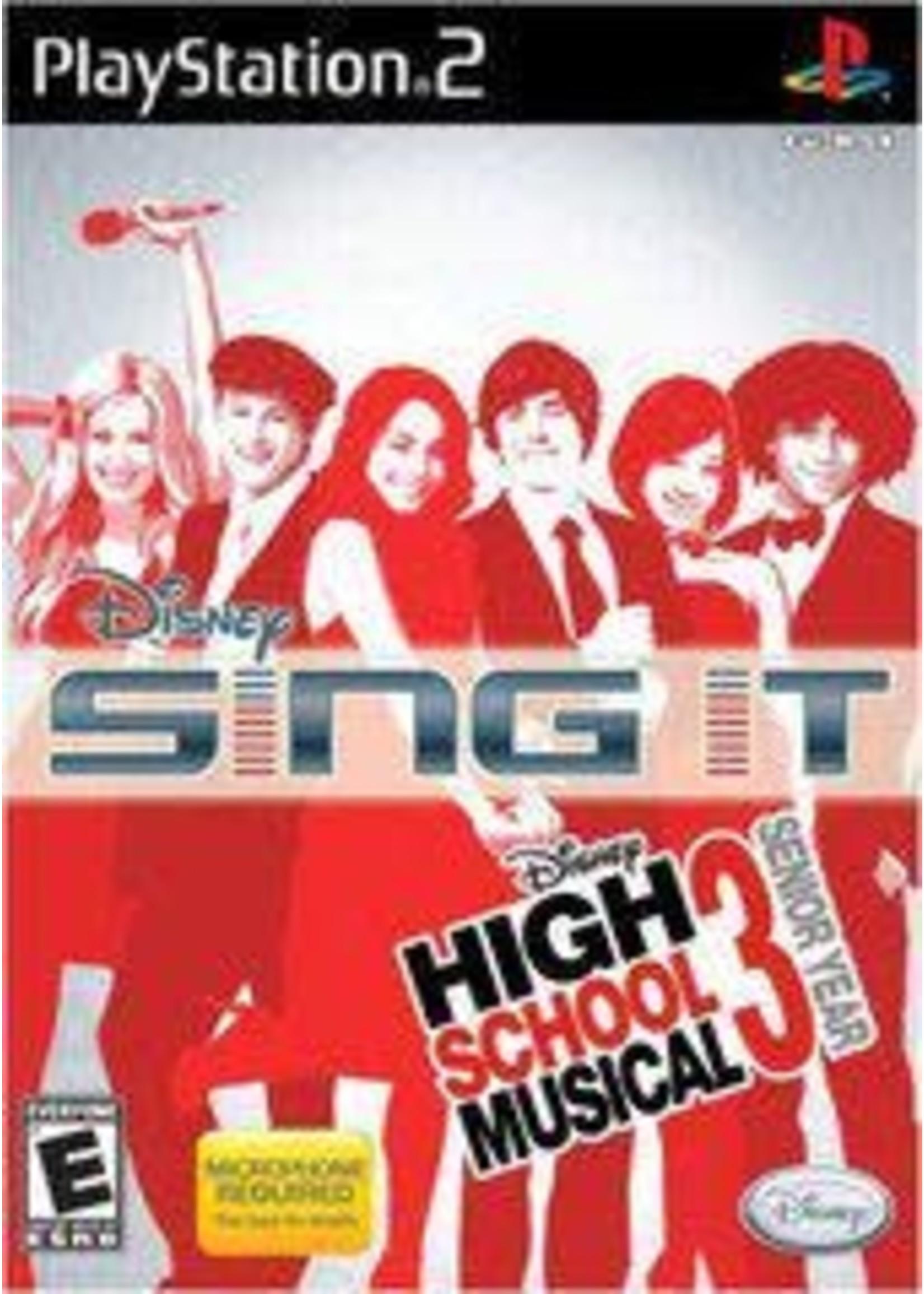 Disney Sing It High School Musical 3 Playstation 2