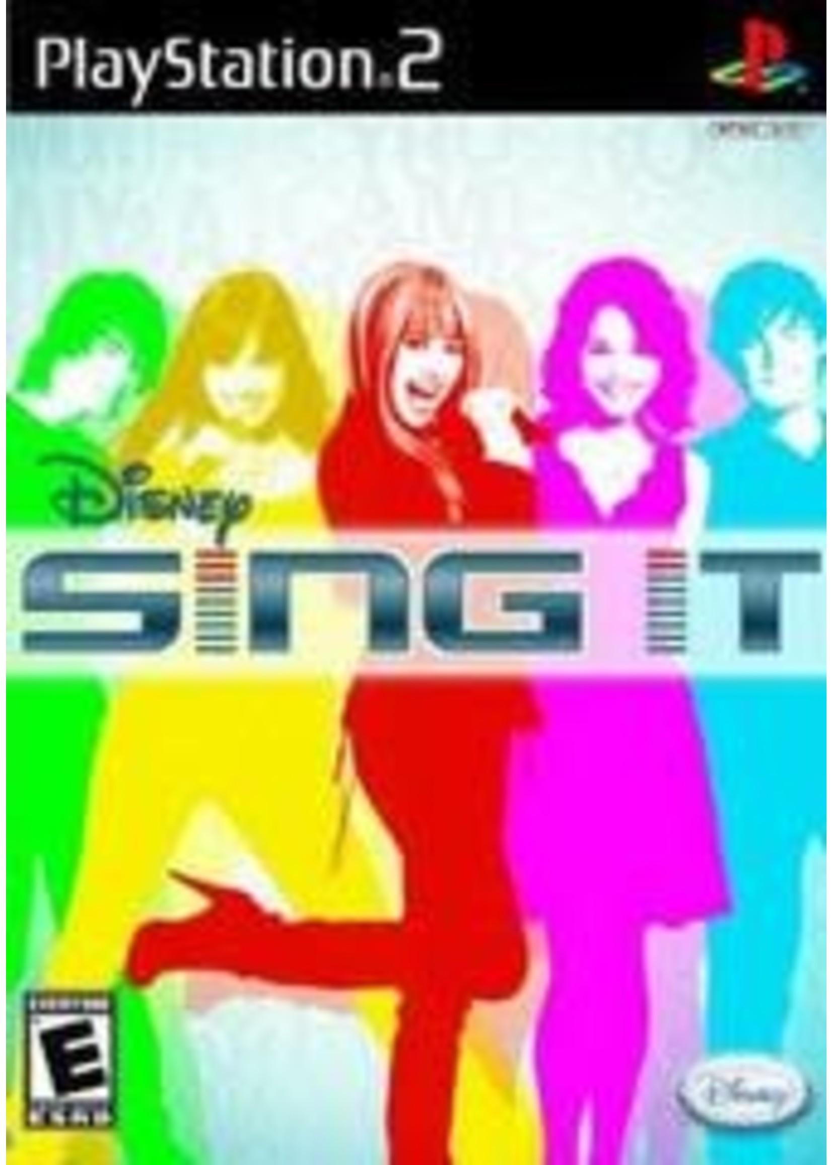 Disney Sing It Playstation 2