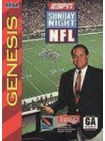 ESPN Sunday Night NFL Sega Genesis