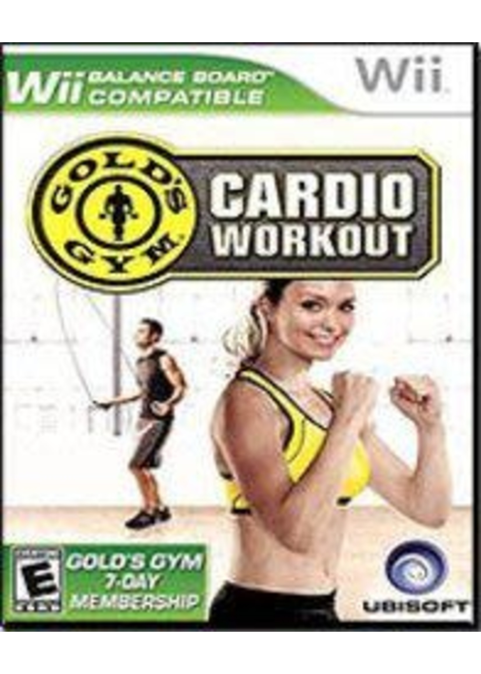 Gold's Gym Cardio Workout Wii