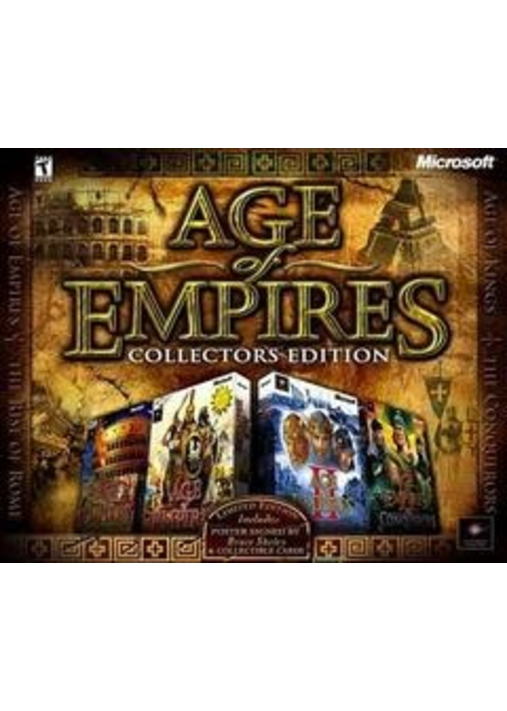 Age Of Empires Collector's Edition PC Games