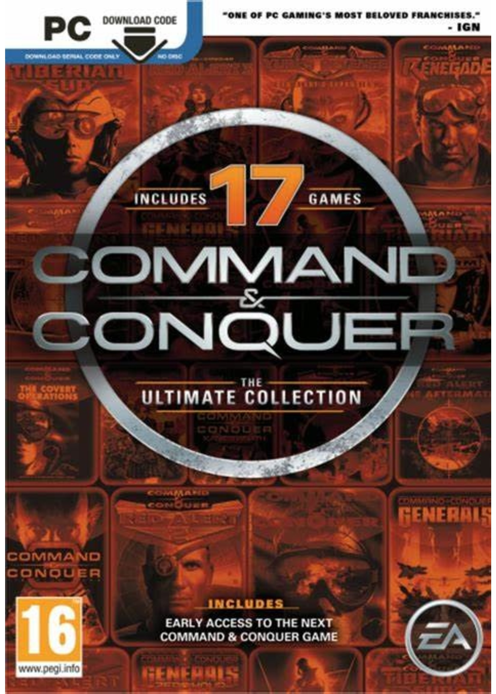 Command & Conquer Ultimate Collection PC Games