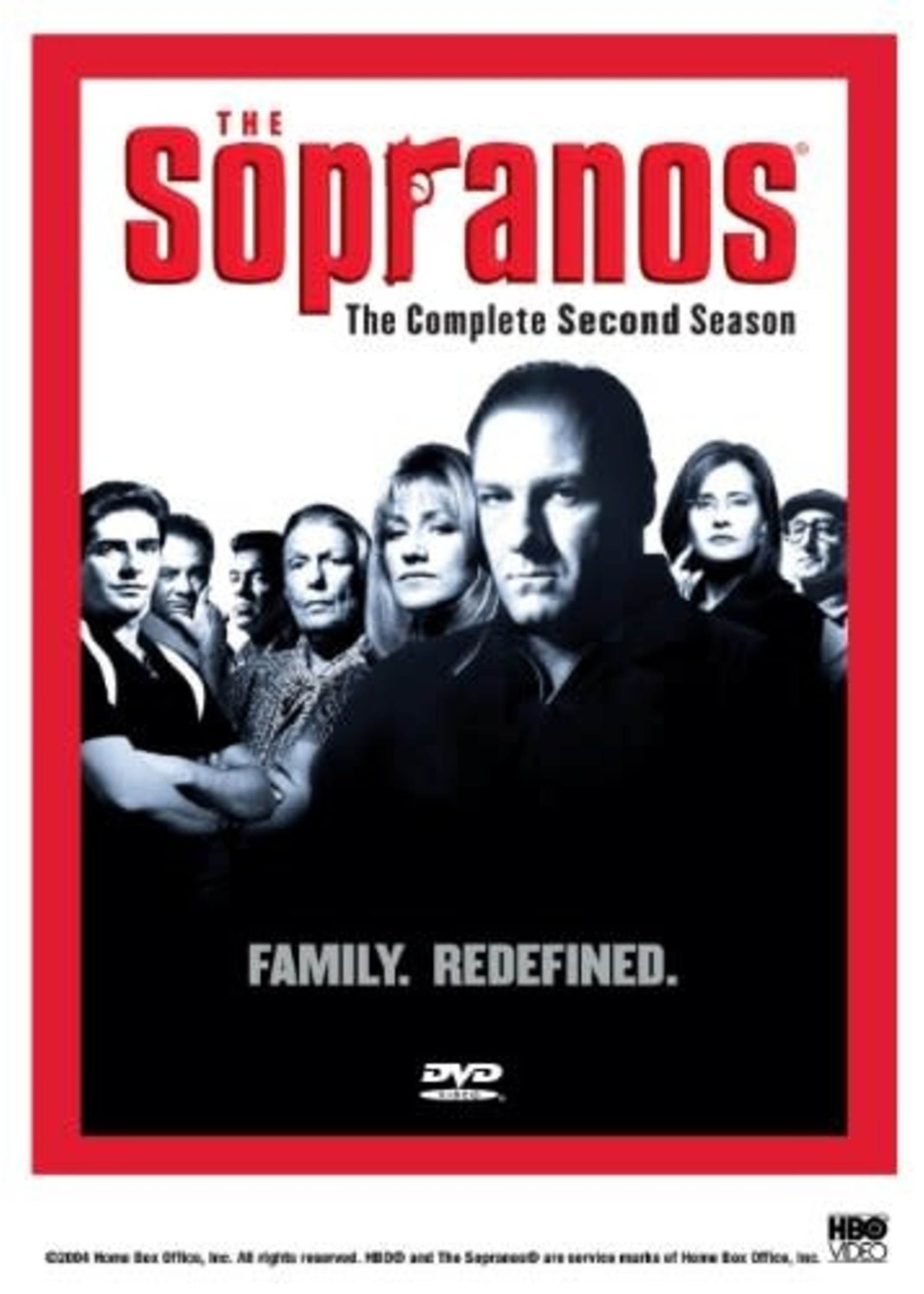 The Sopranos Complete Second Season DVD
