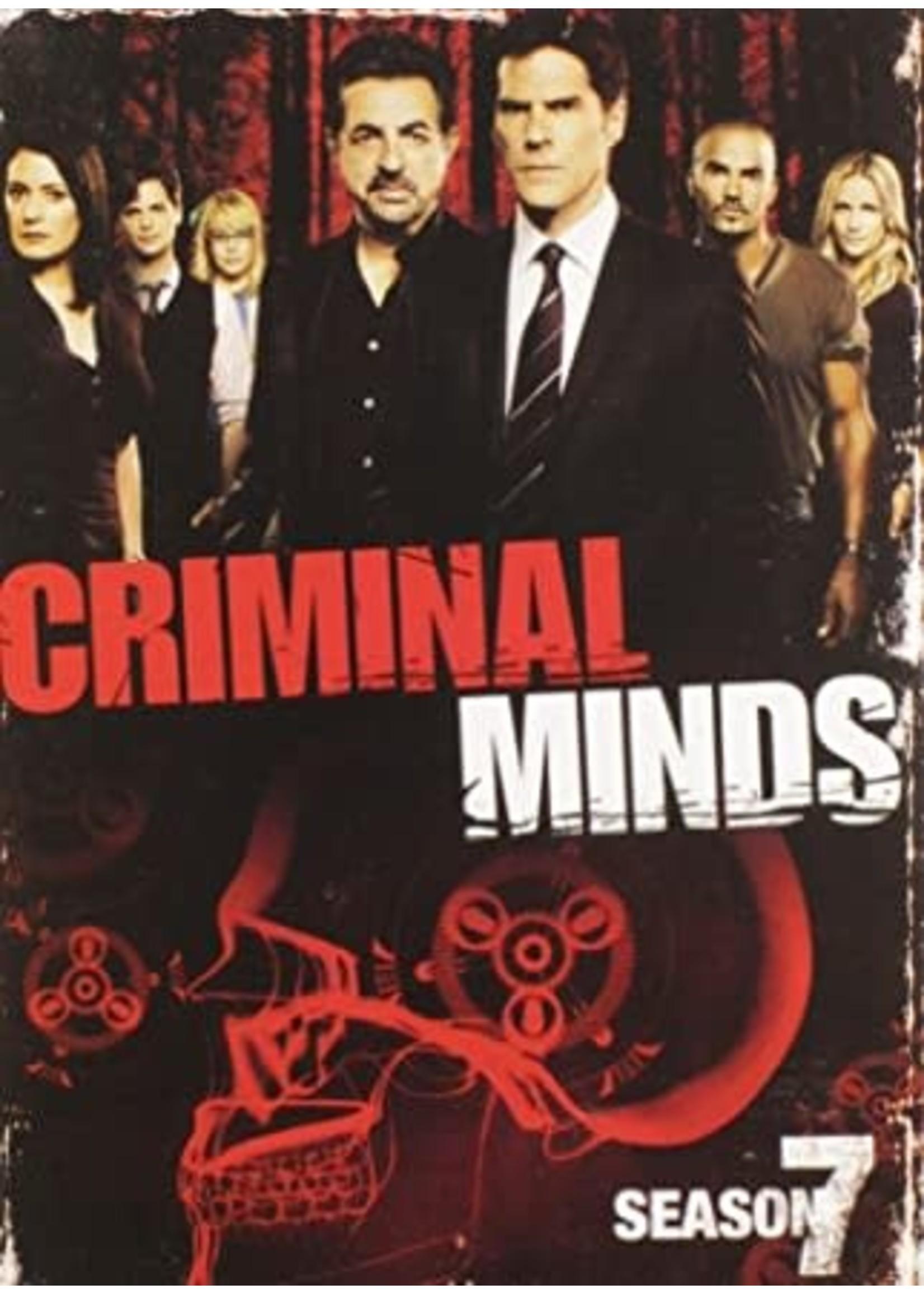 Criminal Minds Season 7 DVD
