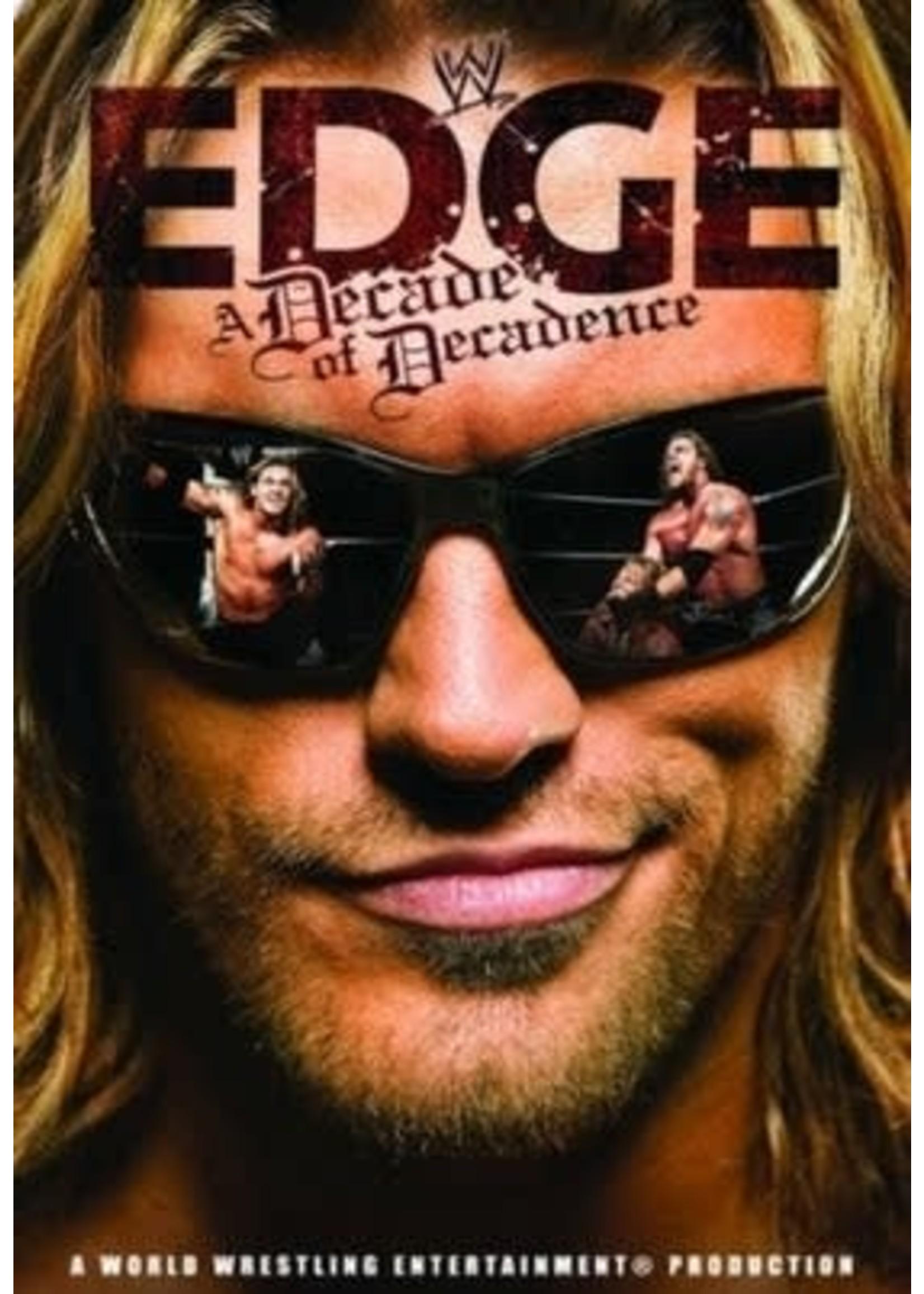 Edge: A Decade of Decadence DVD