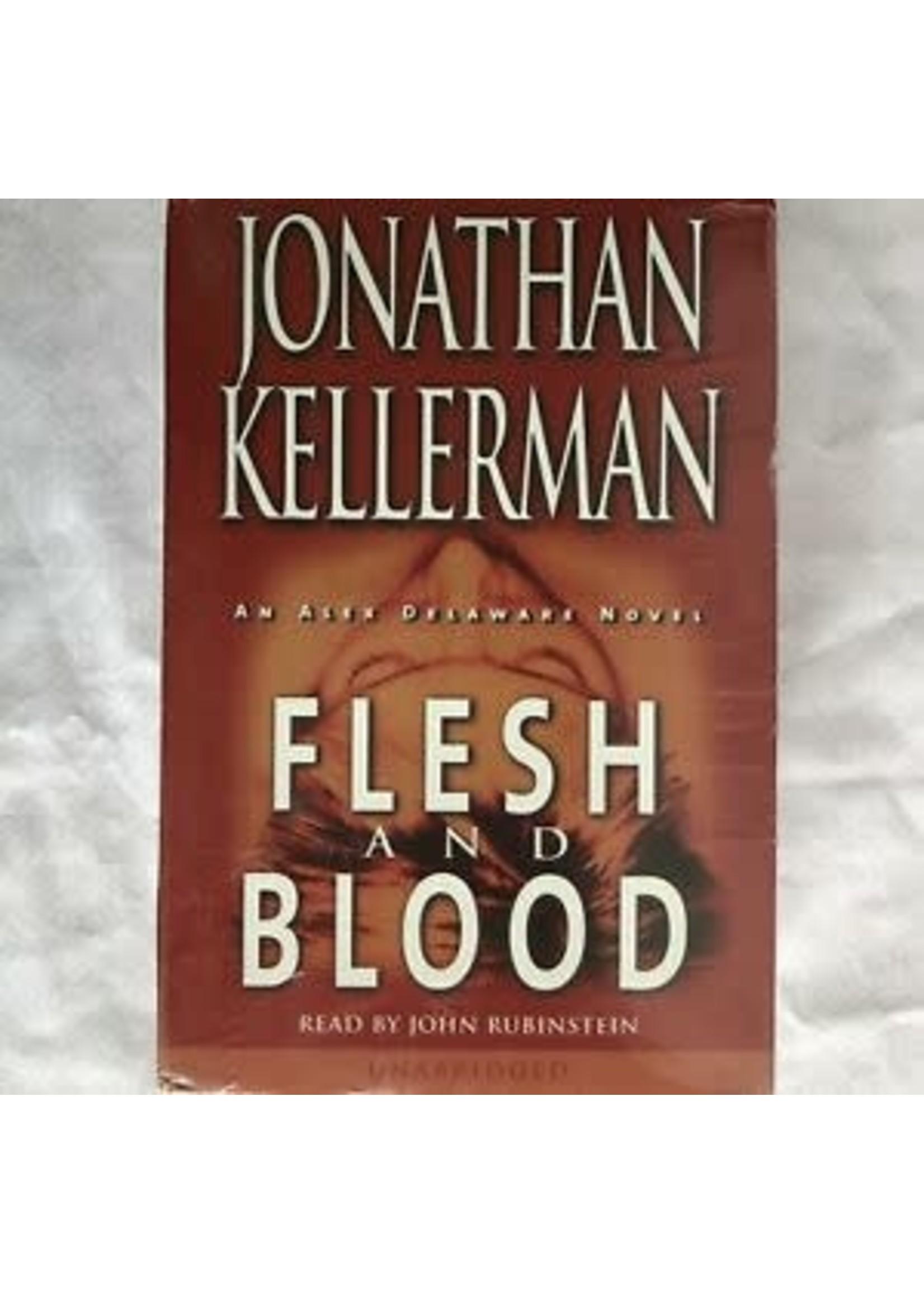 Jonathan Kellerman Flesh And Blood CD