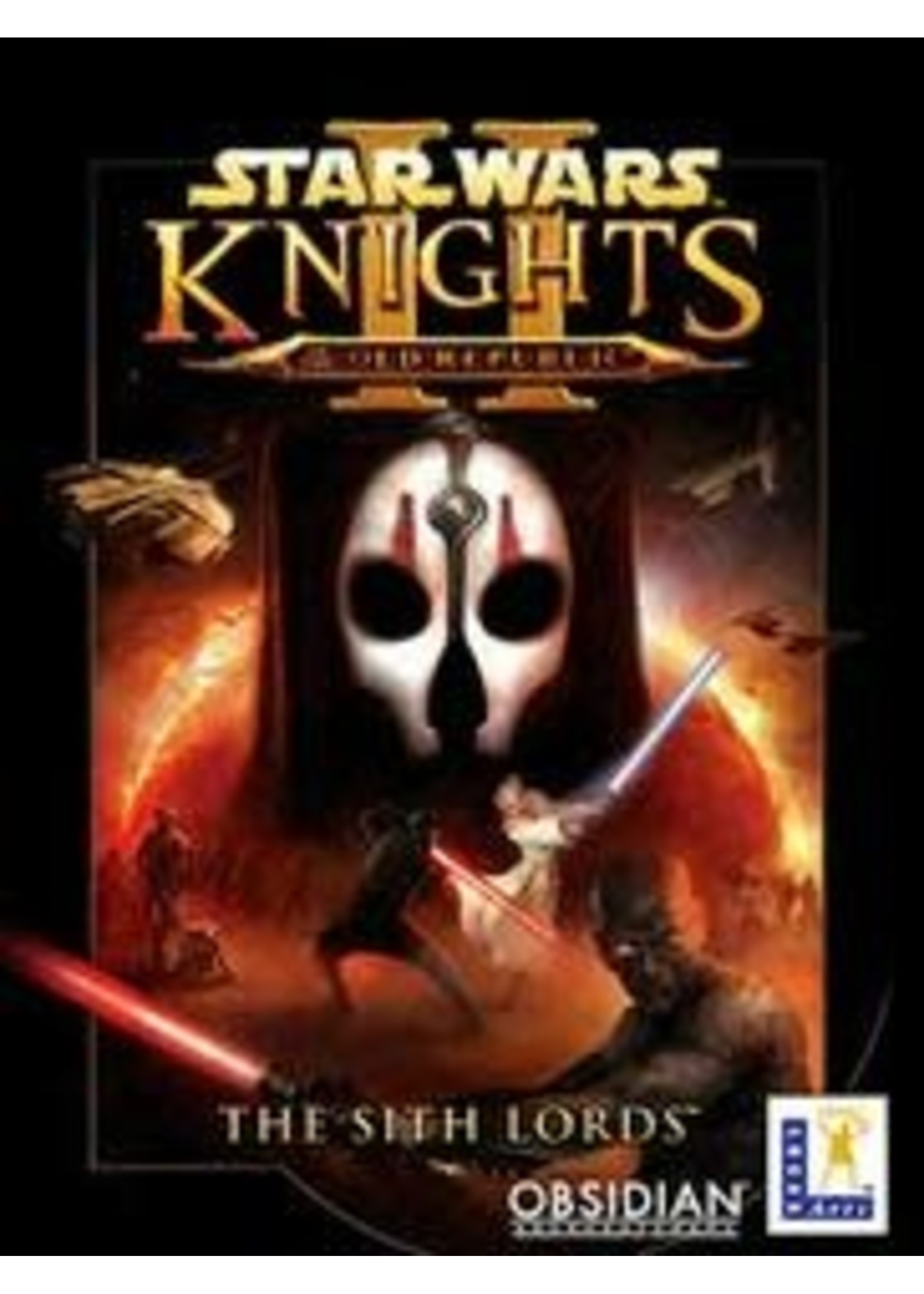 Star Wars Knights Of The Old Republic II PC Games