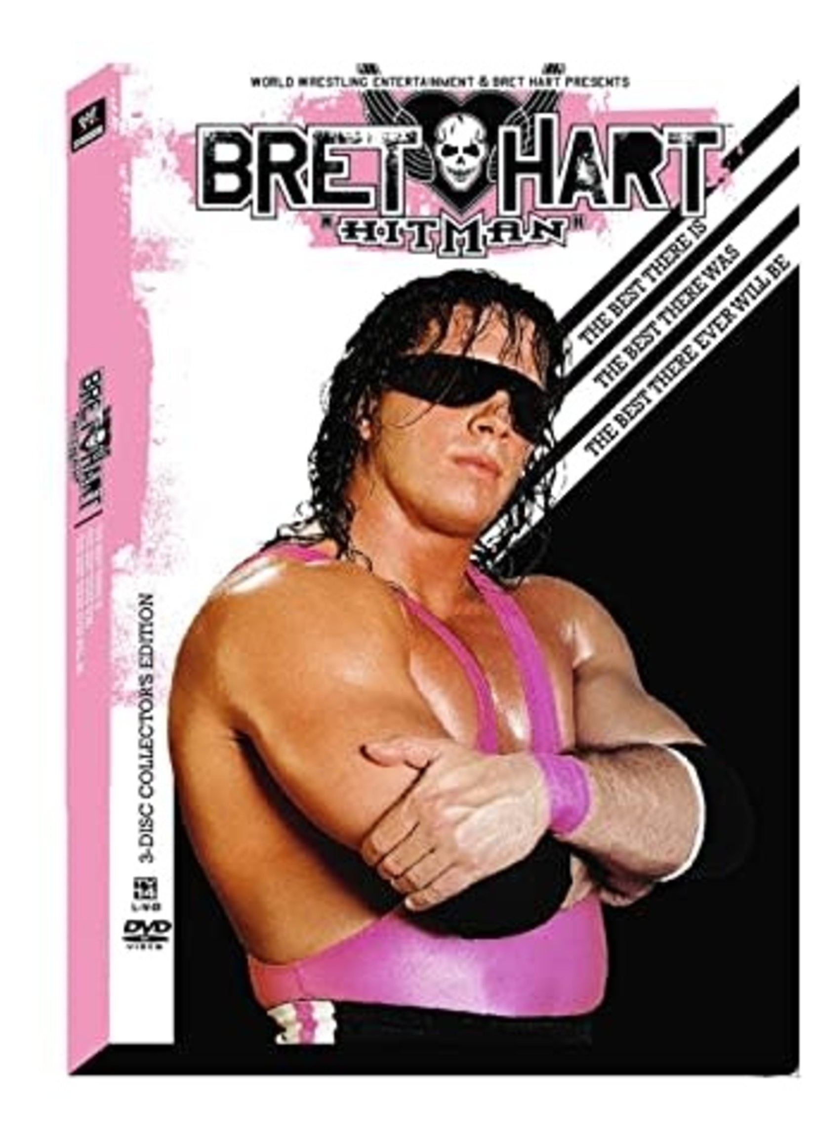 """WWE: Bret """"Hitman"""" Hart - The Best There Is, The Best There Was, The Best There Ever Will Be DVD"""