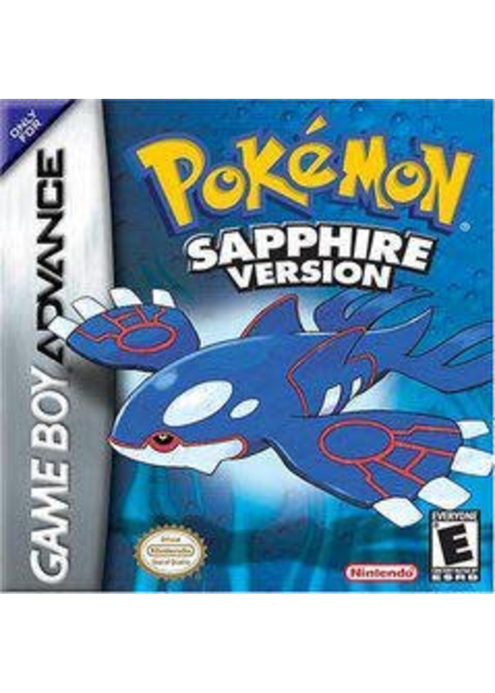 Pokemon Sapphire GameBoy Advance
