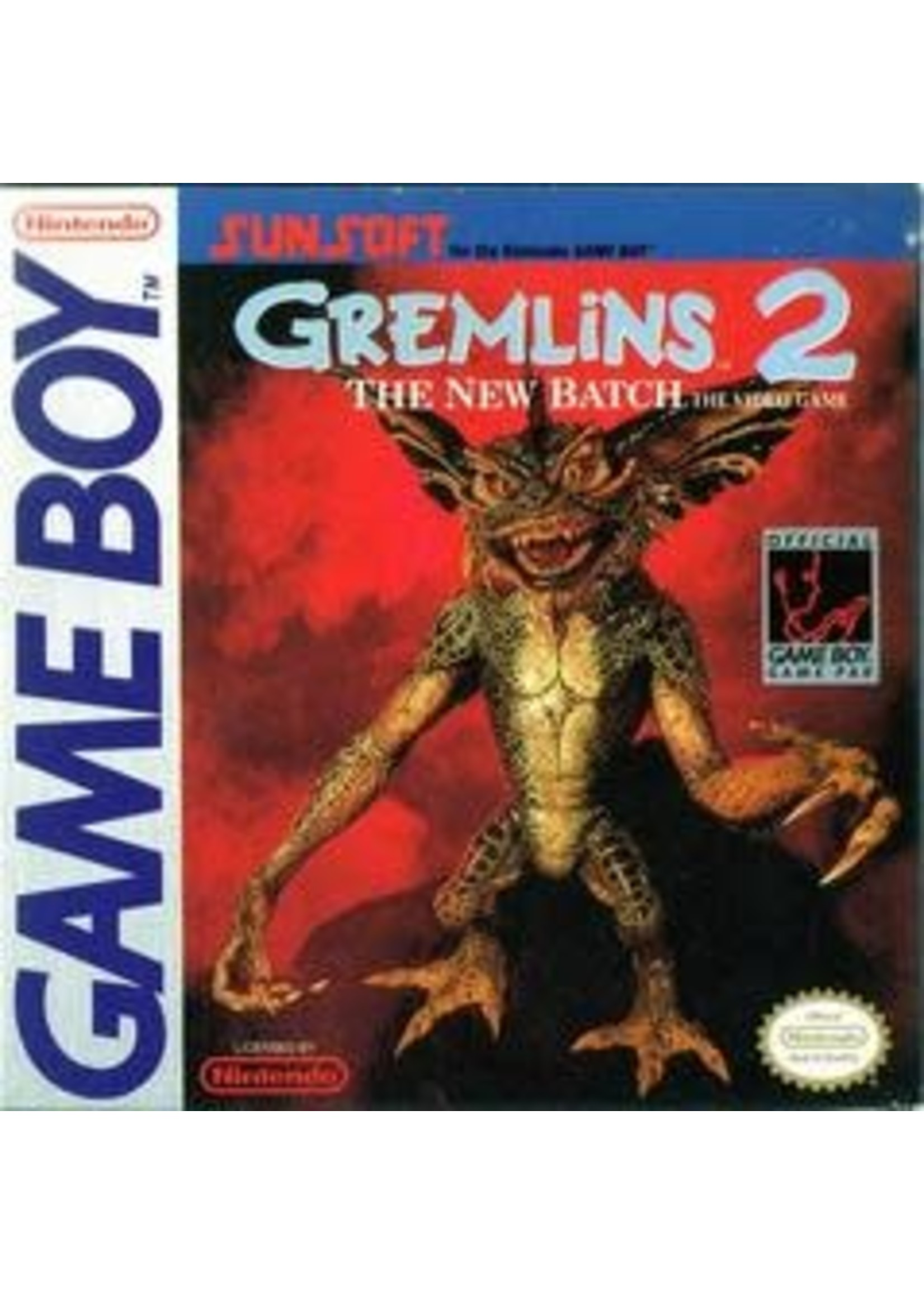 Gremlins 2 GameBoy