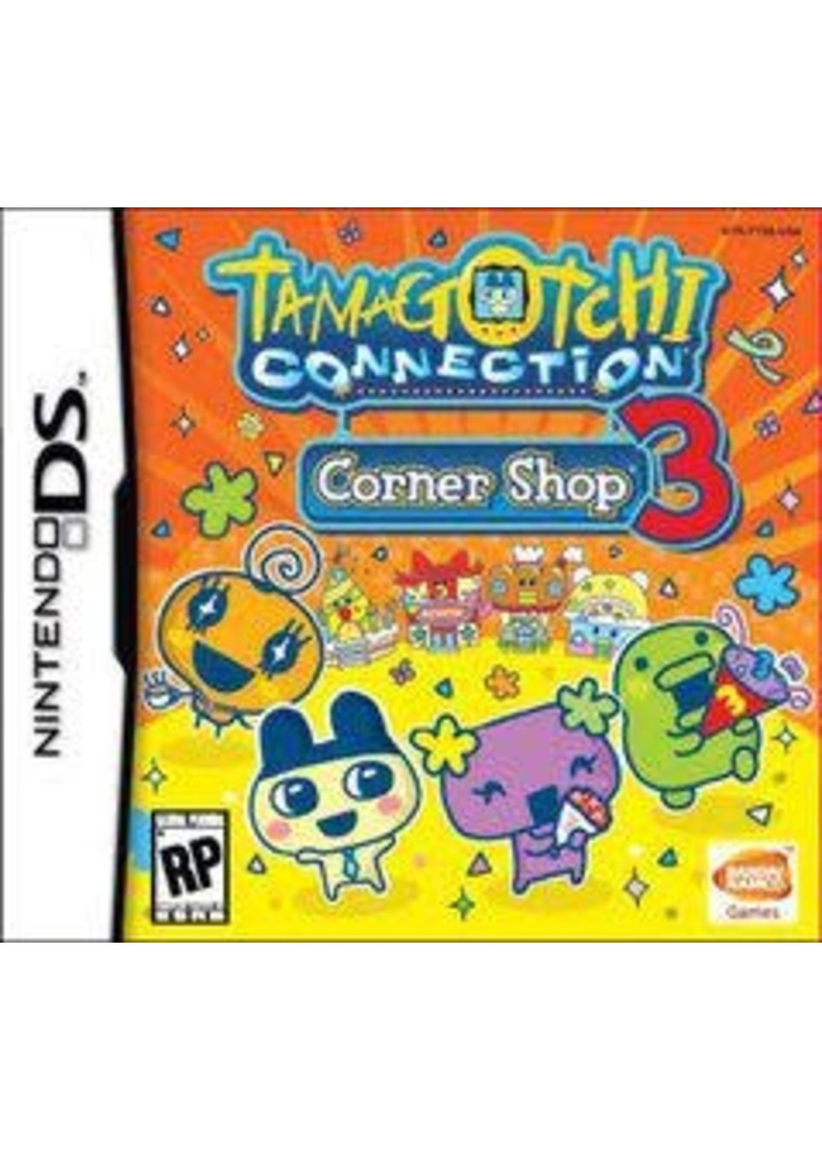 Tamagotchi Connection Corner Shop 3 Nintendo DS