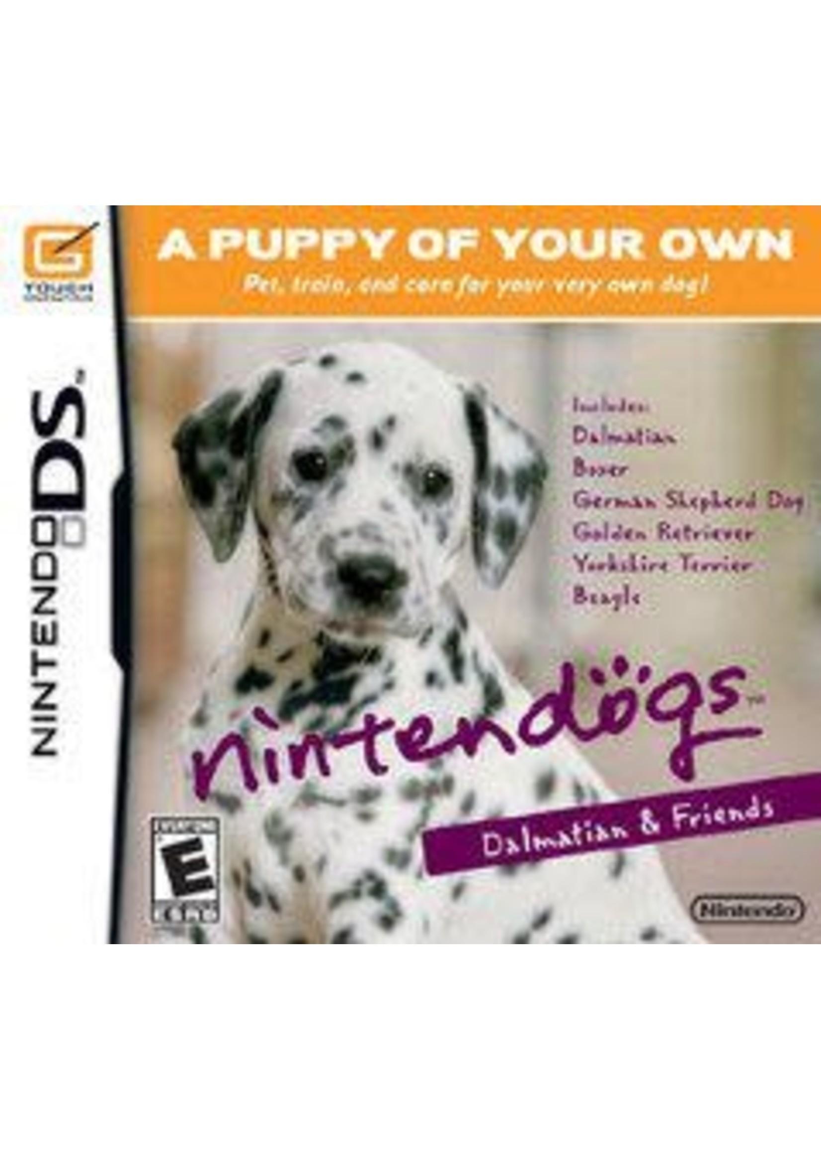 Nintendogs Dalmatian And Friends Nintendo DS