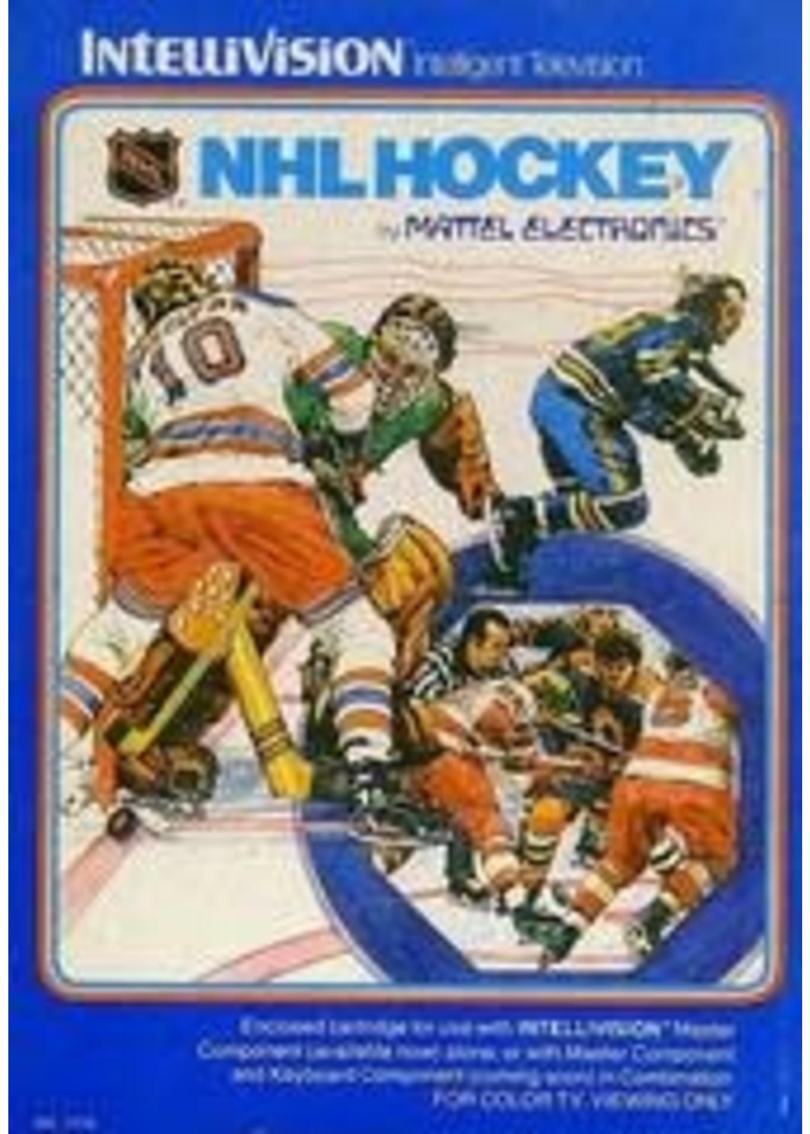NHL Hockey Intellivision