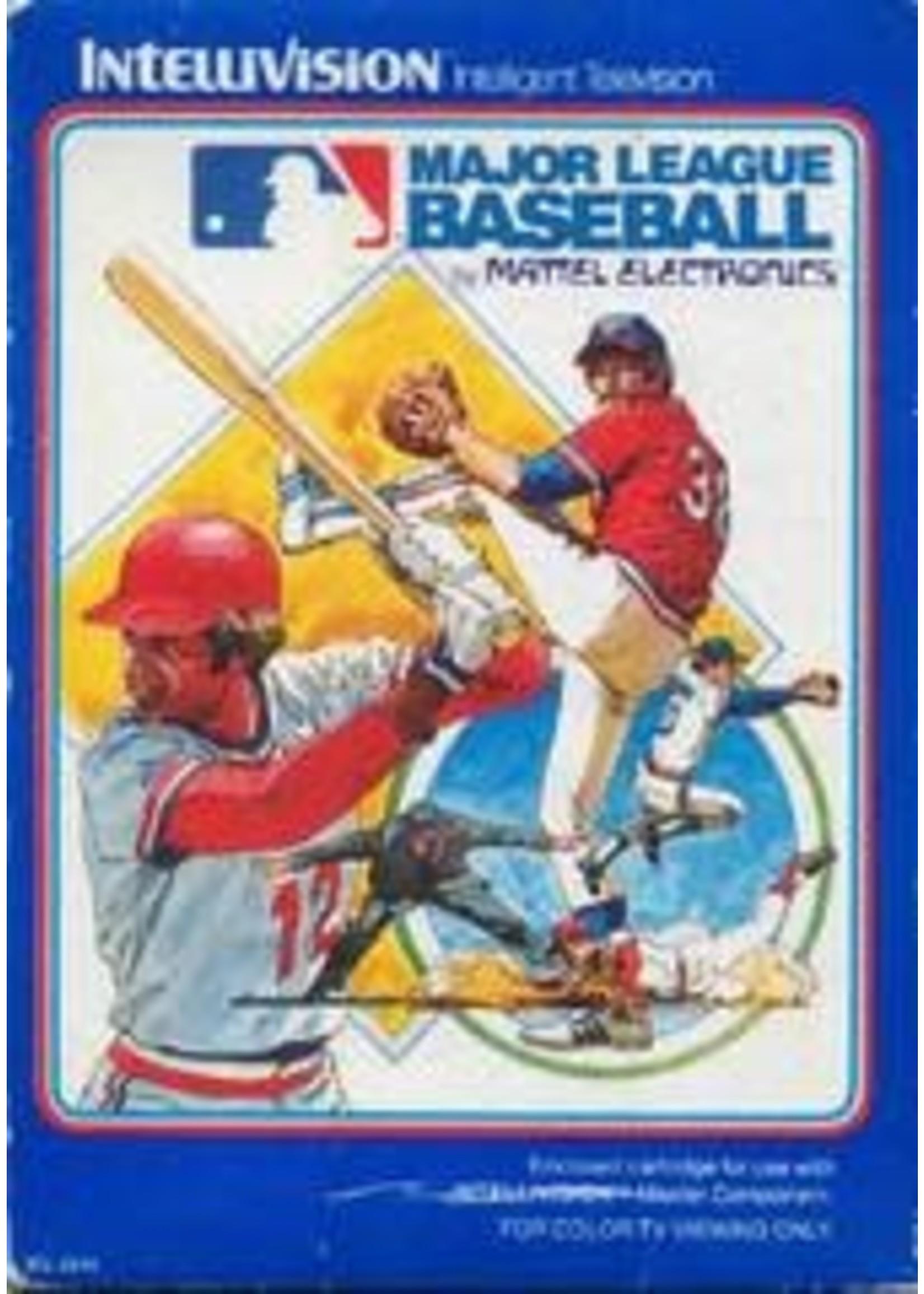 Major League Baseball Intellivision