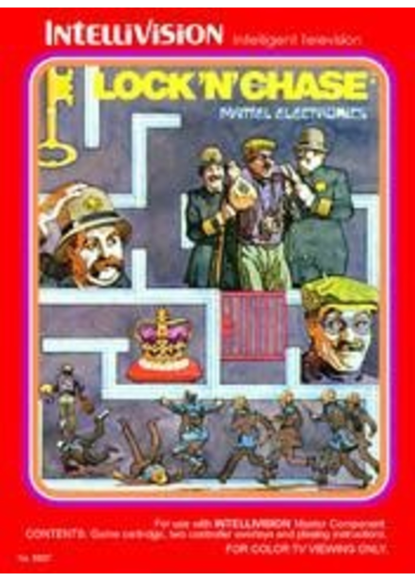 Lock 'N Chase Intellivision