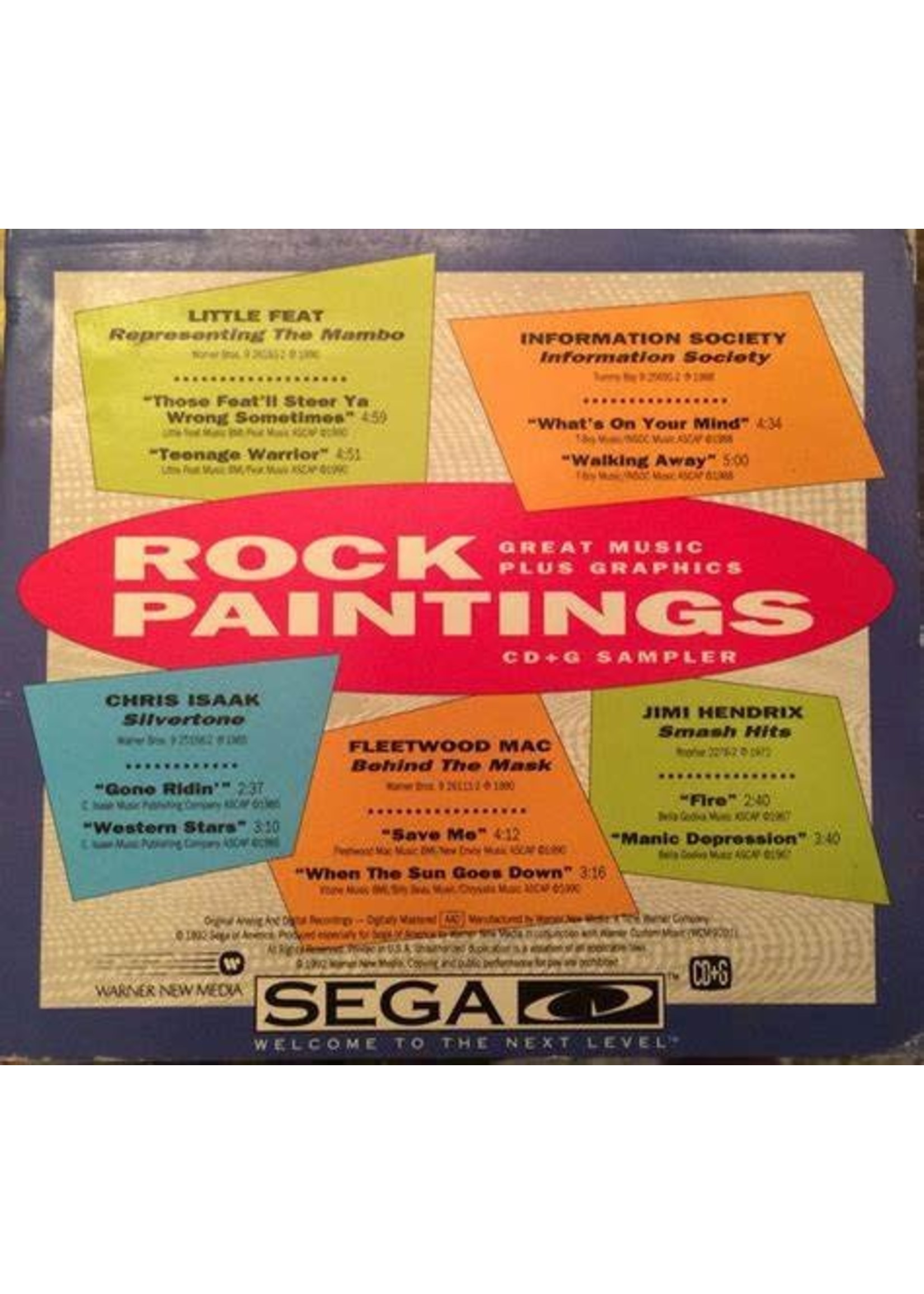 Rock Paintings Sega