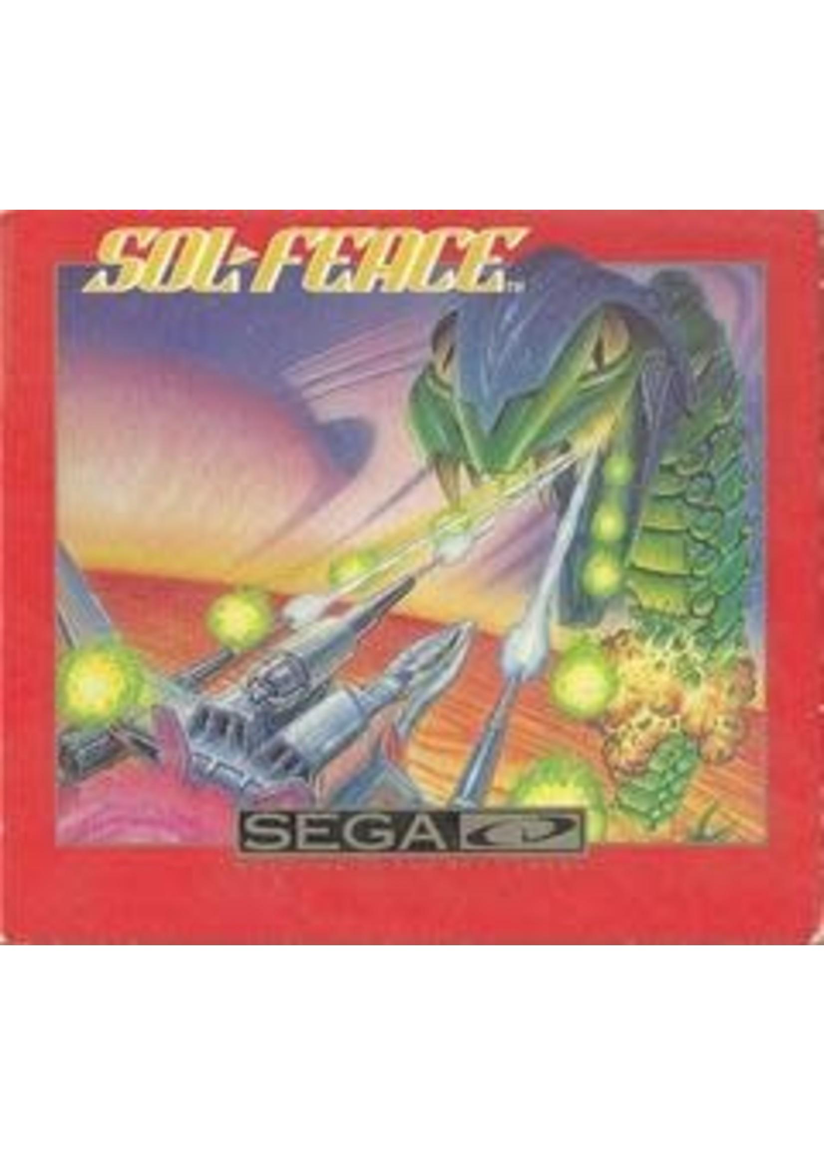Sol-Feace Sega CD