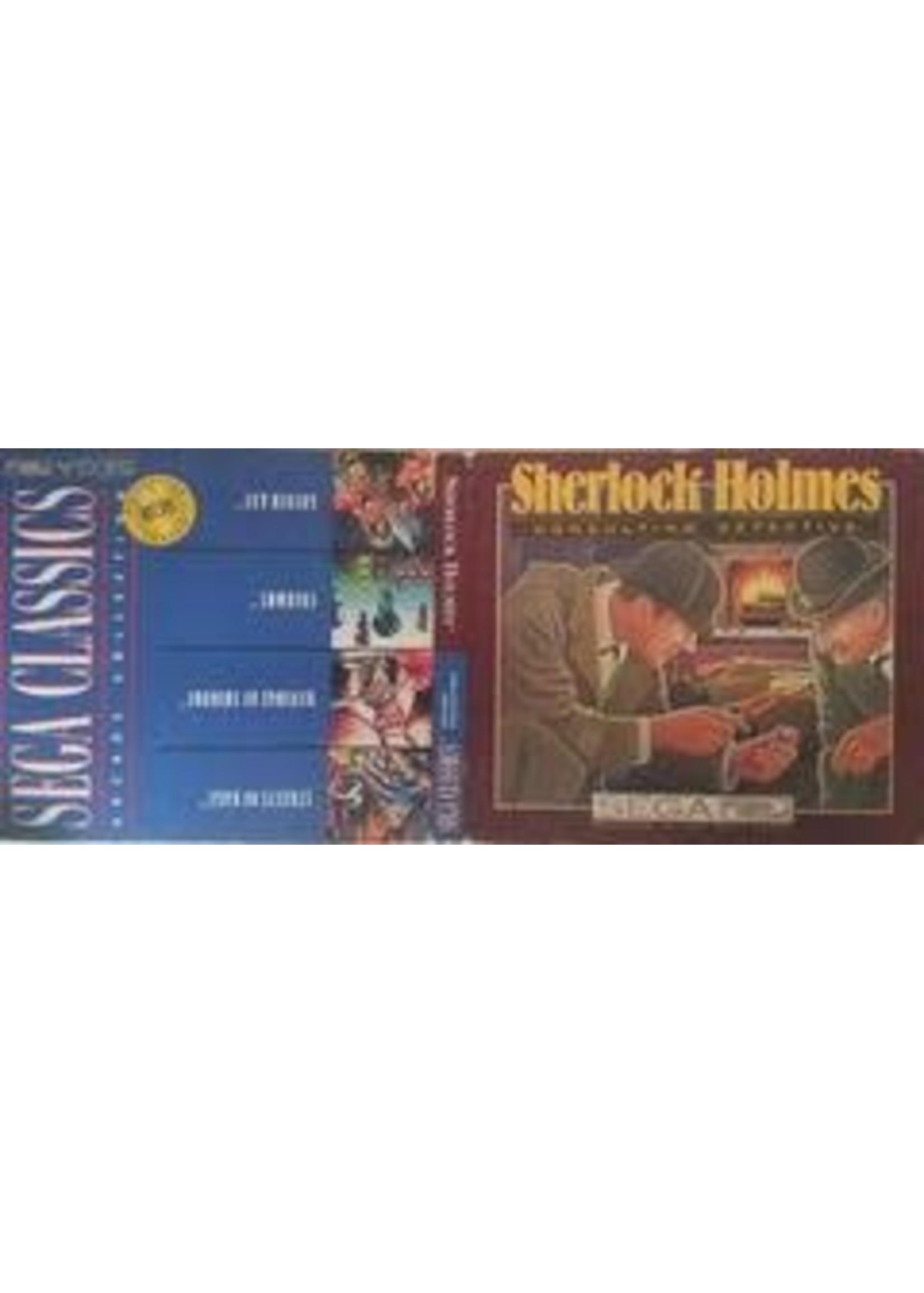 Sherlock Holmes & Sega Classics Sega CD