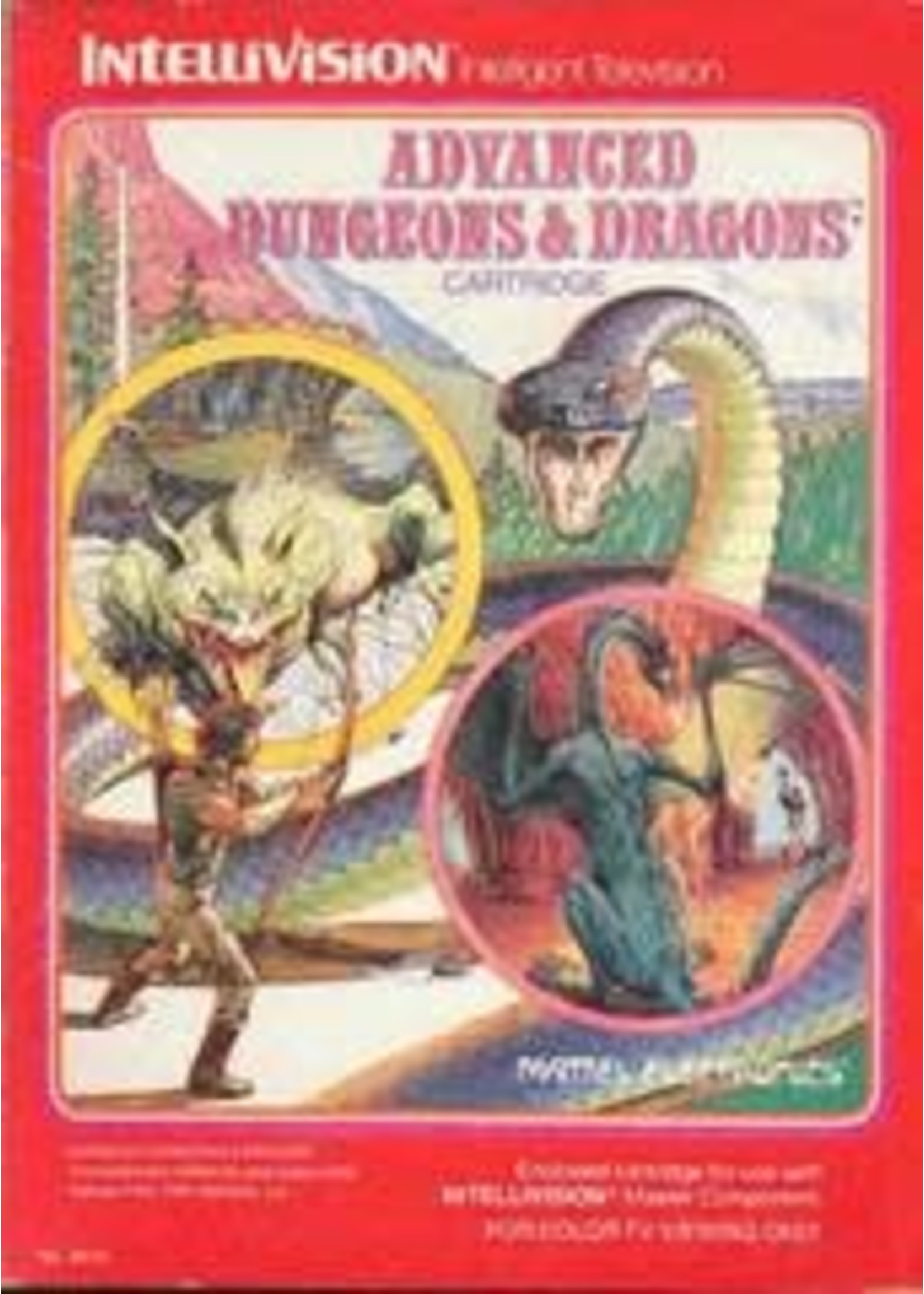 Advanced Dungeons & Dragons Intellivision