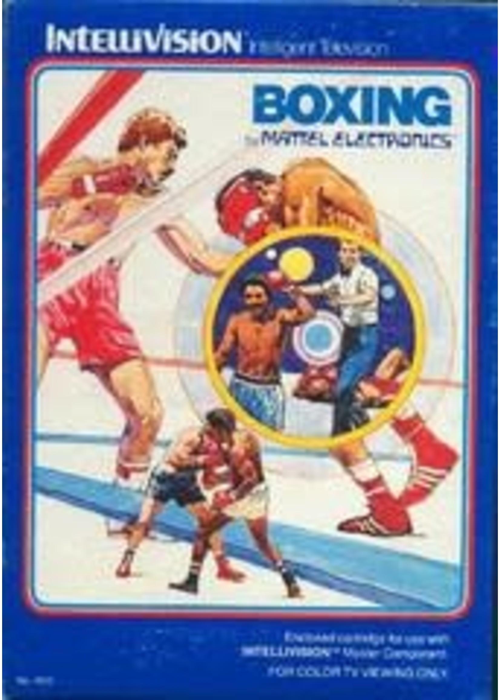 Boxing Intellivision