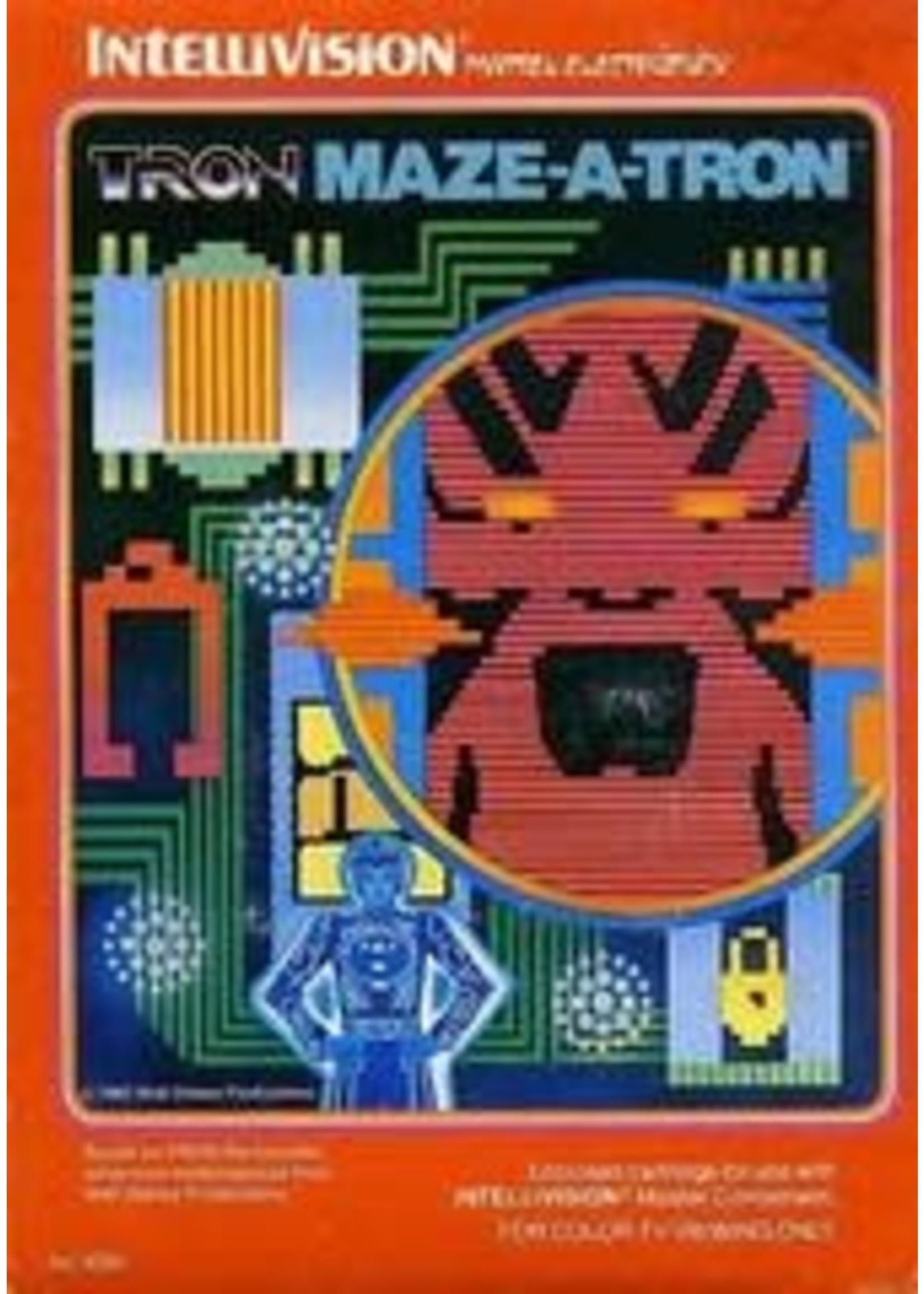 Tron Maze-A-Tron Intellivision