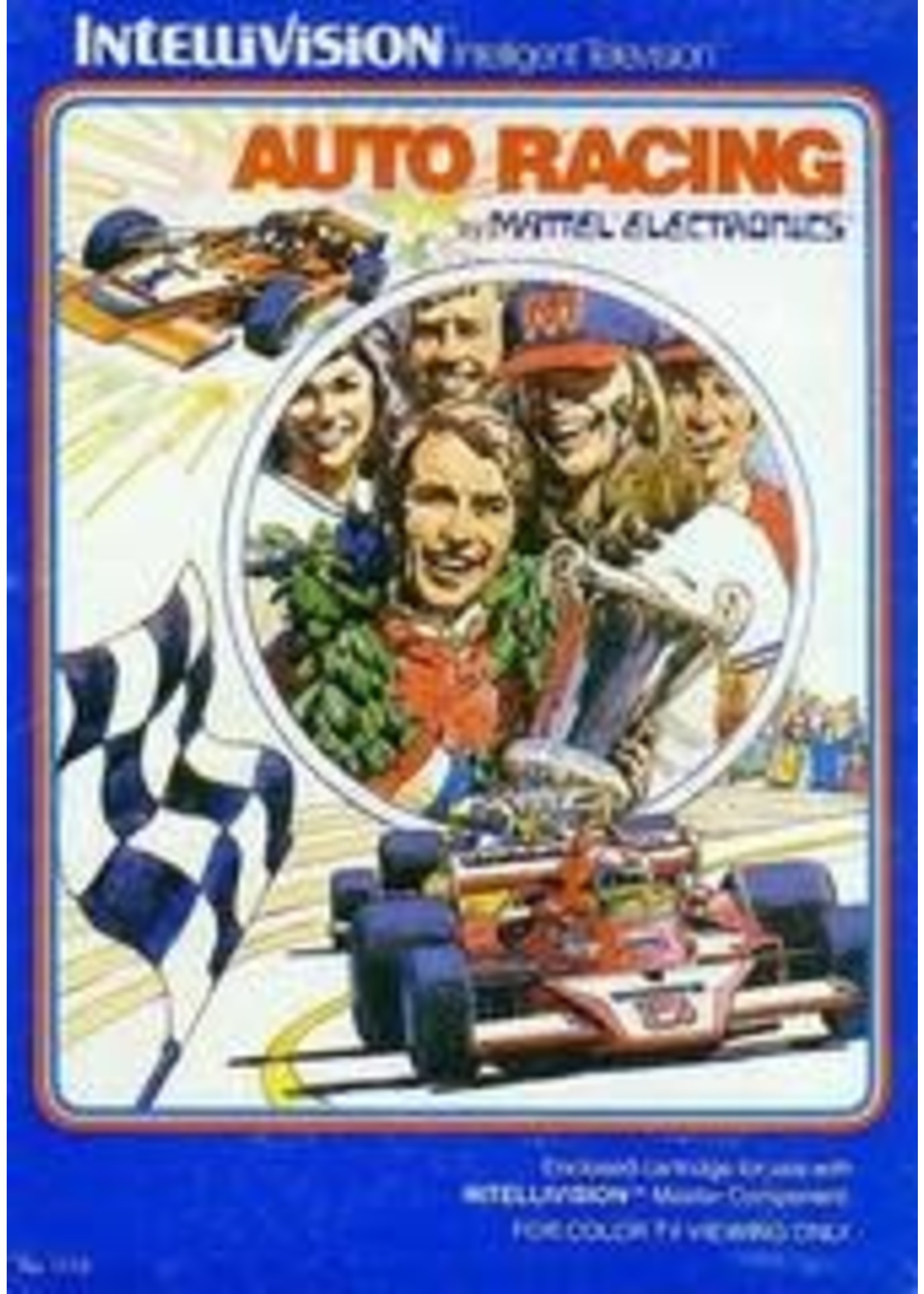 Auto Racing Intellivision