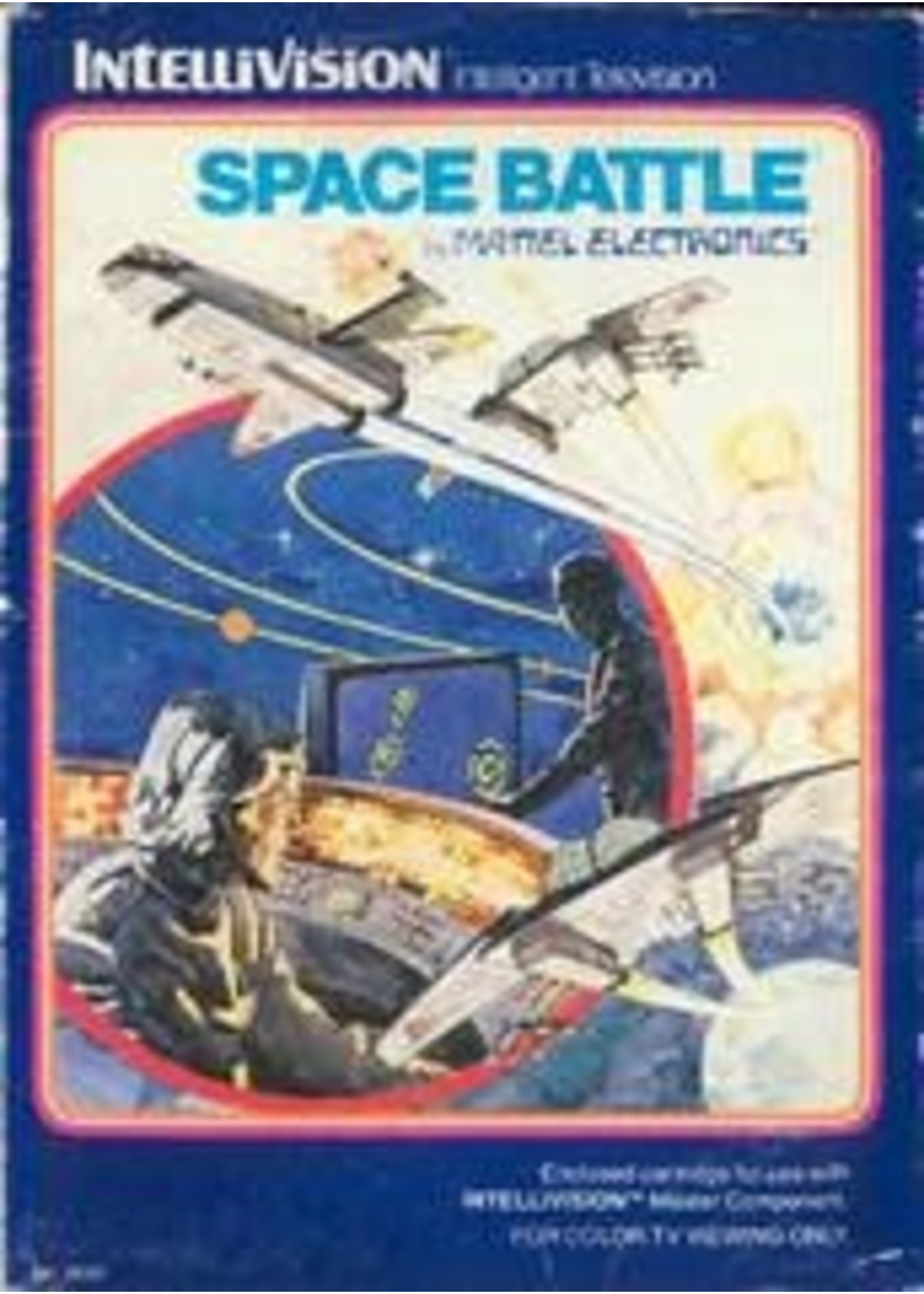 Space Battle Intellivision