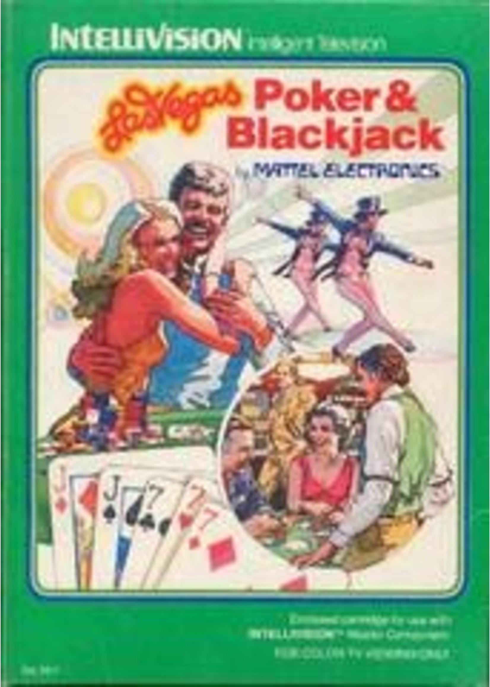 Las Vegas Poker & Blackjack Intellivision