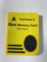8MB Ps2 Memory Card-Yellow