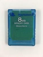 8MB Ps2 Memory Card-Blue