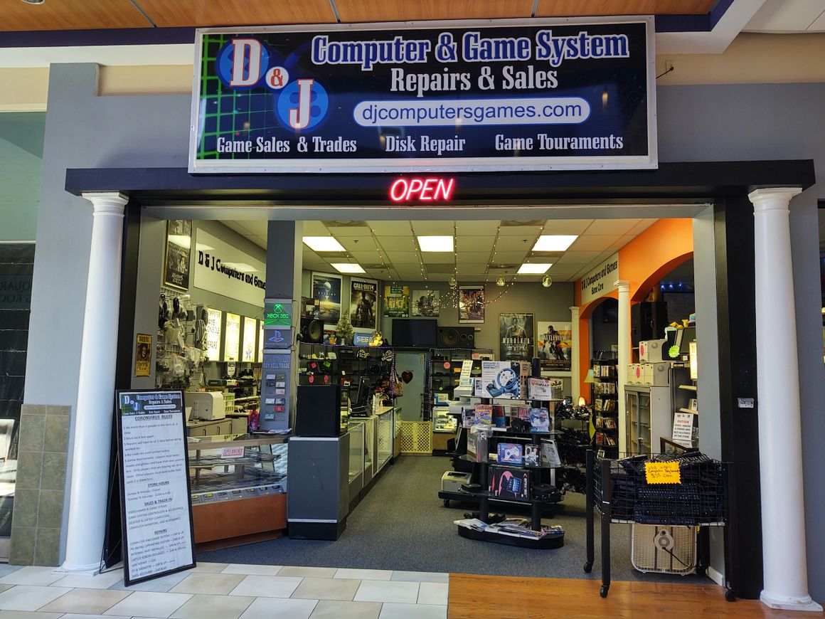 D&J Computers And Games