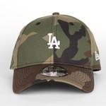 New Era New Era : 940 Los Angeles Dodgers White Mini Logo Snap Cap