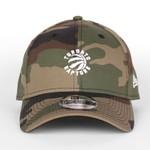 New Era New Era : 940 Toronto Raptors White Mini Logo Snap Cap