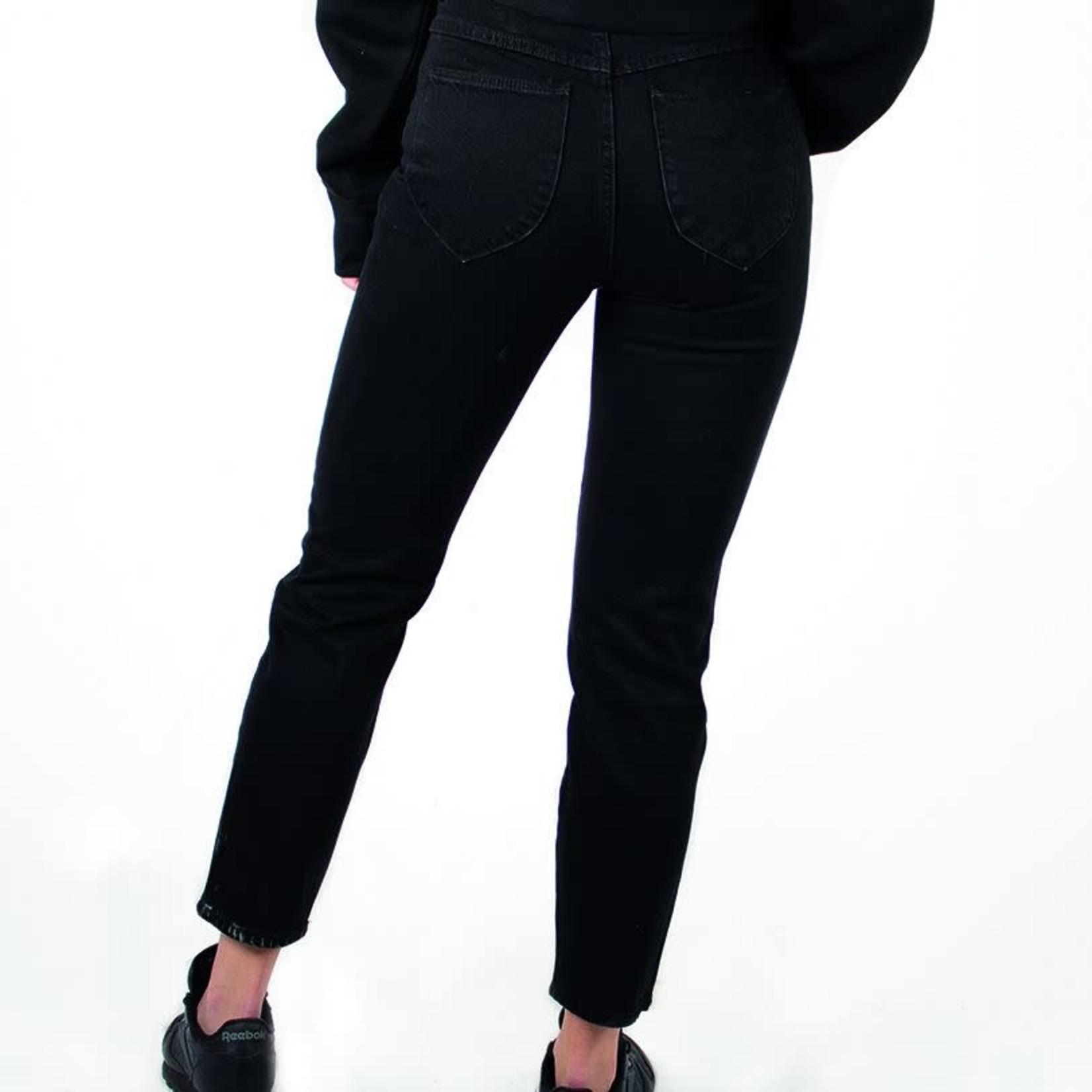 Rolla's Rolla's : Dusters Hiwaist Straight Leg Denim Pants