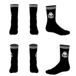 Kappa Kappa : Authentic Aster 1 Pack  Crew Socks